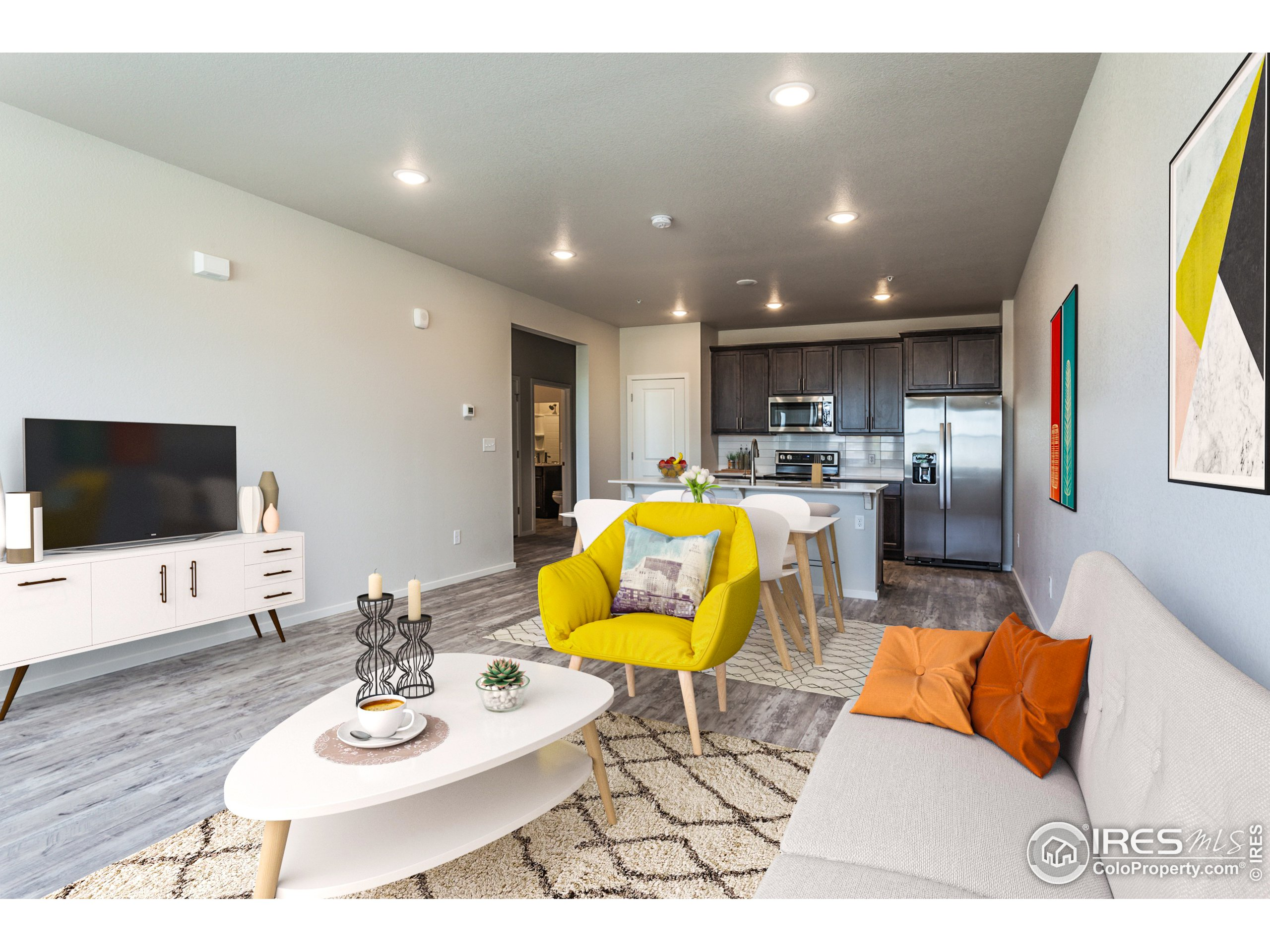 EXAMPLE PHOTOS: LIVING ROOM, DINING ROOM & KITCHEN