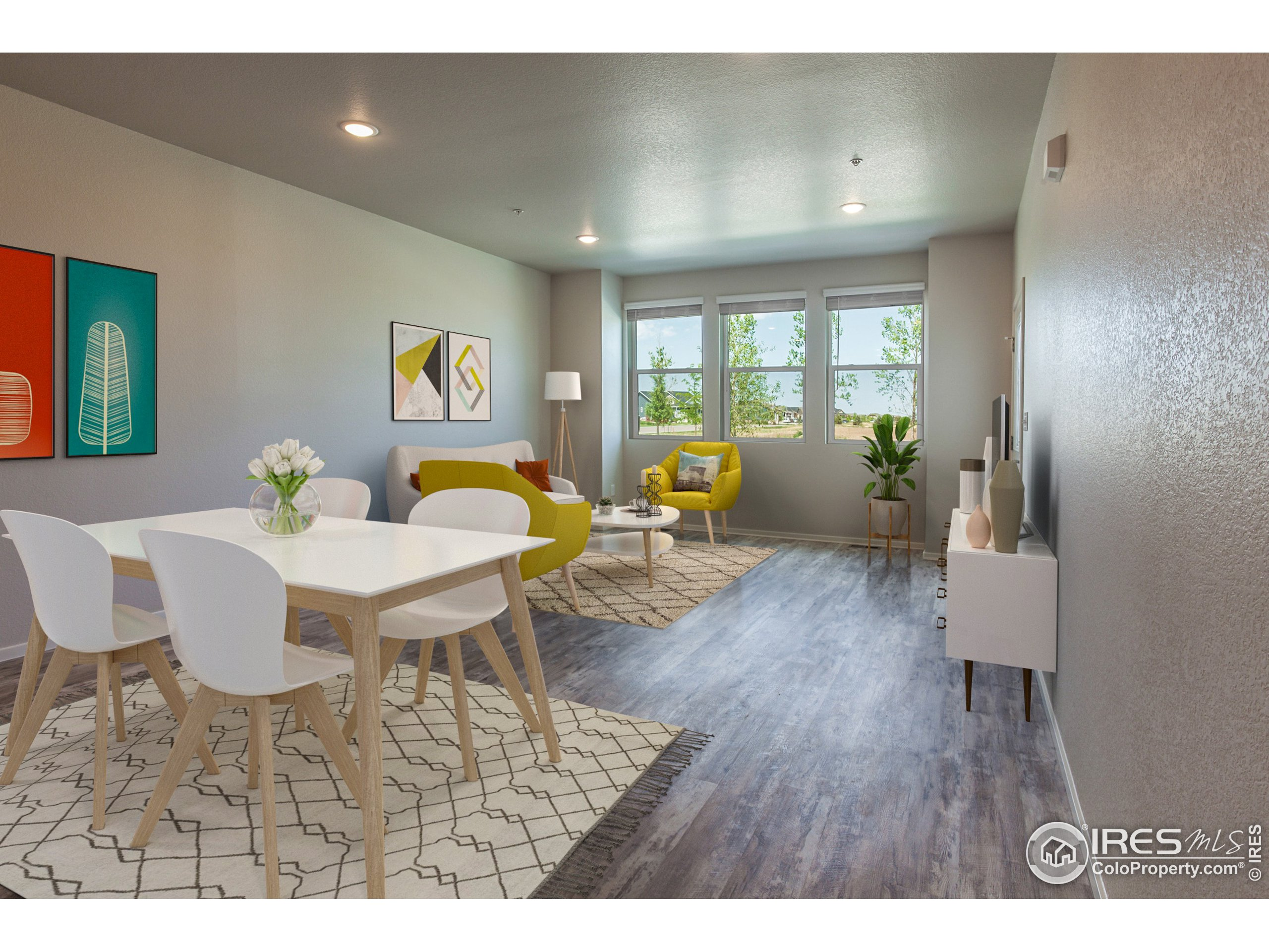EXAMPLE PHOTOS: DINING ROOM & LIVING ROOM
