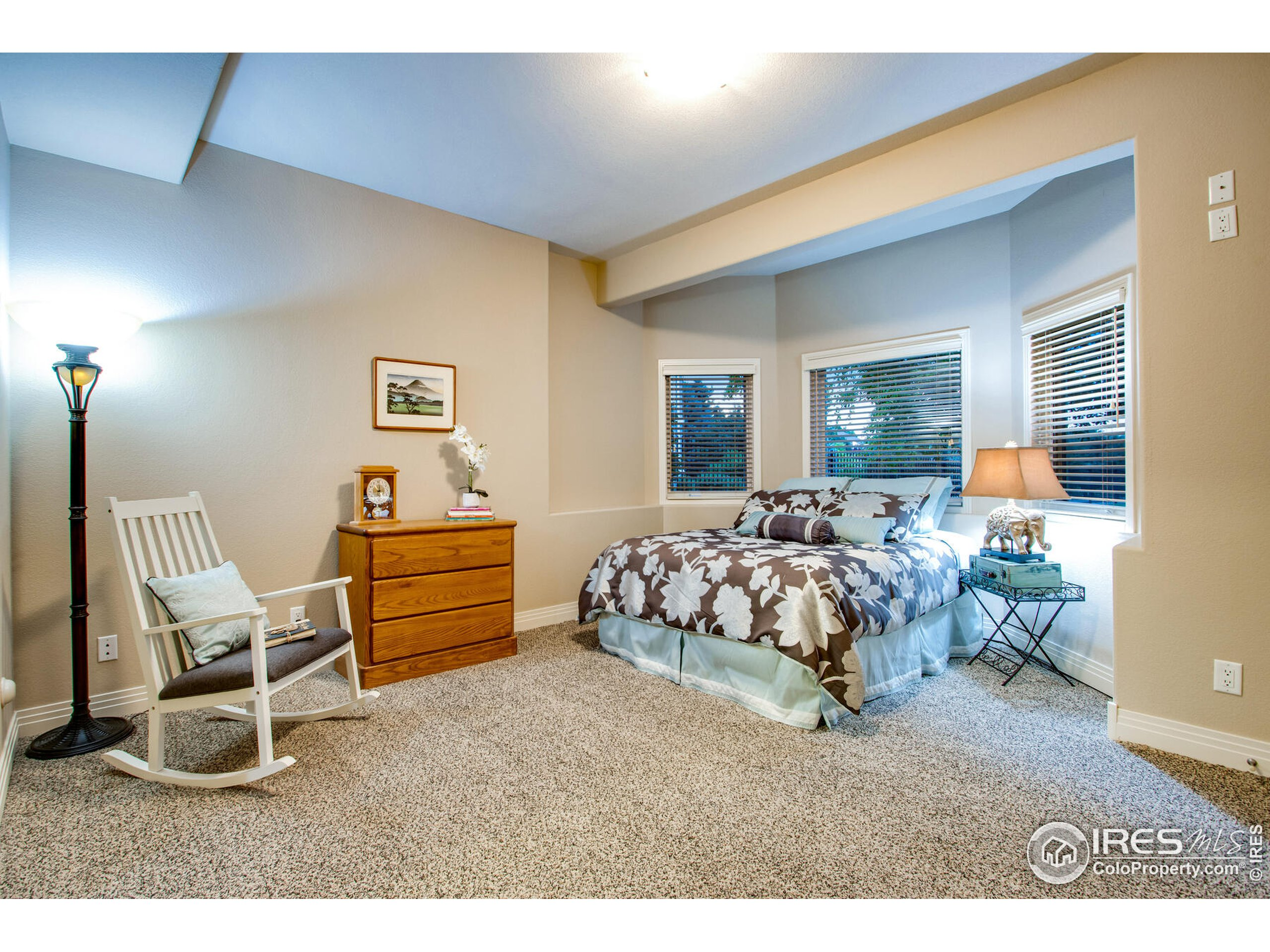 Oversized Lower Level Bedroom #5 with large Side by Side closets and supreme views