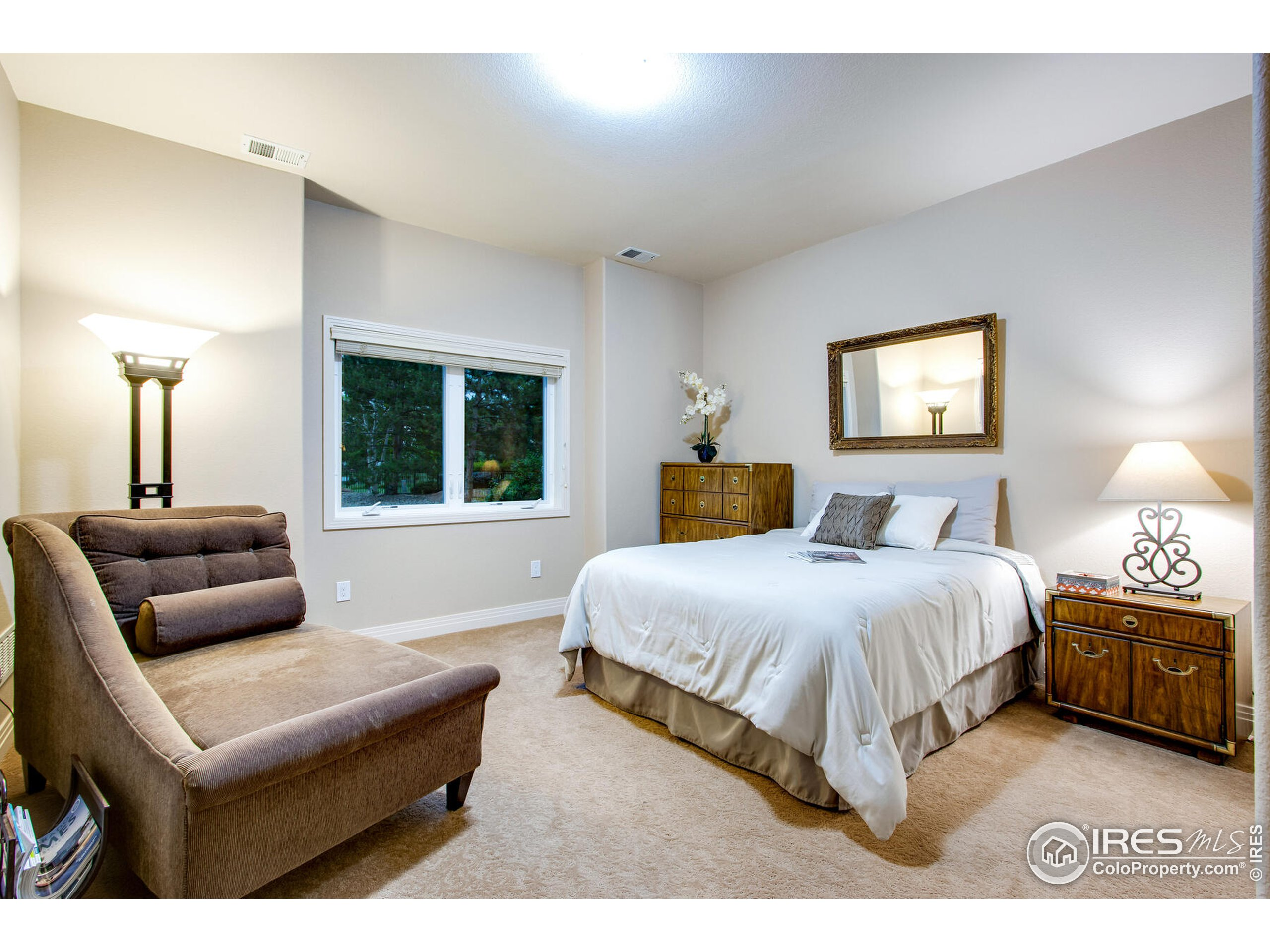 Lower Level Bedroom #3 - Great for Guest or Enlaws with spectacular views