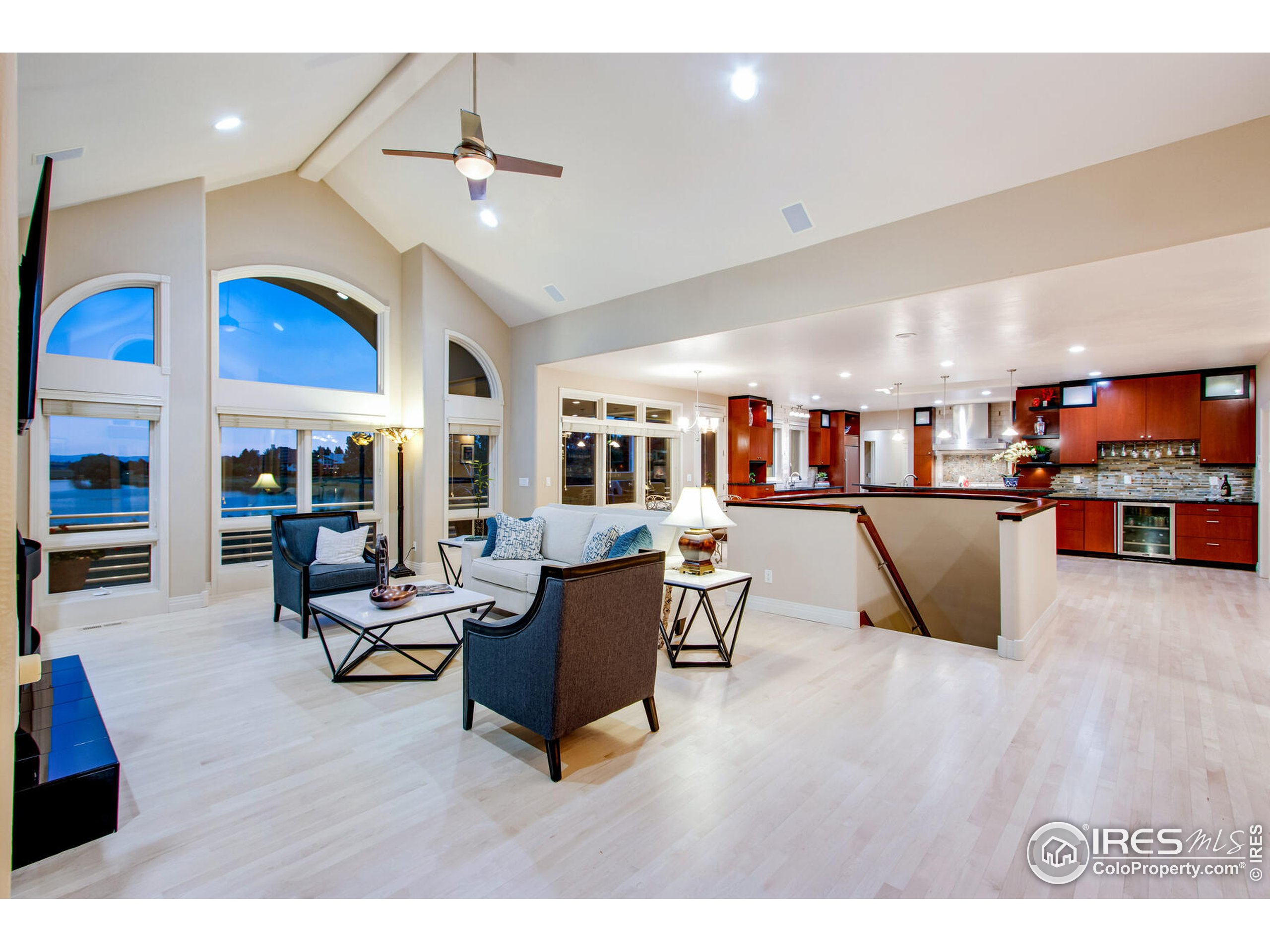 Expansive & Open with views from every room