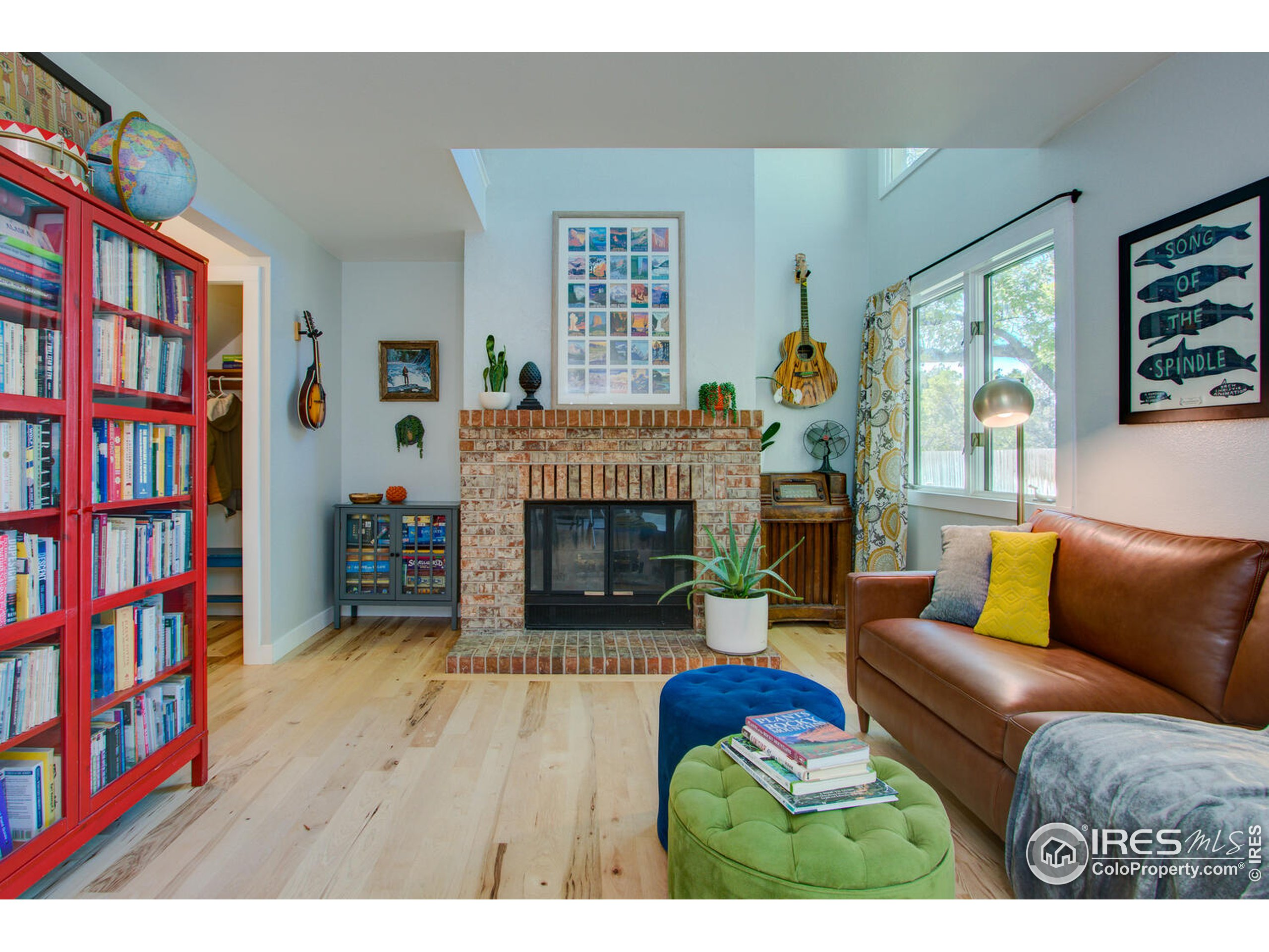 *All offers in Sat. Oct 3rd by 5PM MST. Seller to review + respond by Sun. Oct. 4th by 5PM MST. Right next to Spring Creek Trail -out your front door! Lives like a townhome -Modern Urban Remodel- Rare Prospect Springs Condo! New Roof, new hot water tank and cozy brick wood burning fireplace! Super low maintenance with the feel of one's own private yard. Solid Hickory plank floors and fresh kitchen remodel: Quartz countertops, stainless appliances + sink (gas slide in range), full subway splash, separate pantry, painted cabinetry and new interior paint + lighting. Convenient upper level laundry w/ newer W/D (all appliances included) Anderson windows, central AC + ceiling fans, Great outdoor living with both a front and backyard private patio! Oversized 1 car Garage is fully sheet rocked w/ opener + just steps across the front patio - easy access. Added storage by front door. Convenient access to - Old Town, UC Health PVH, I-25, Mid-town and Genesis Health Club, and Shopping)