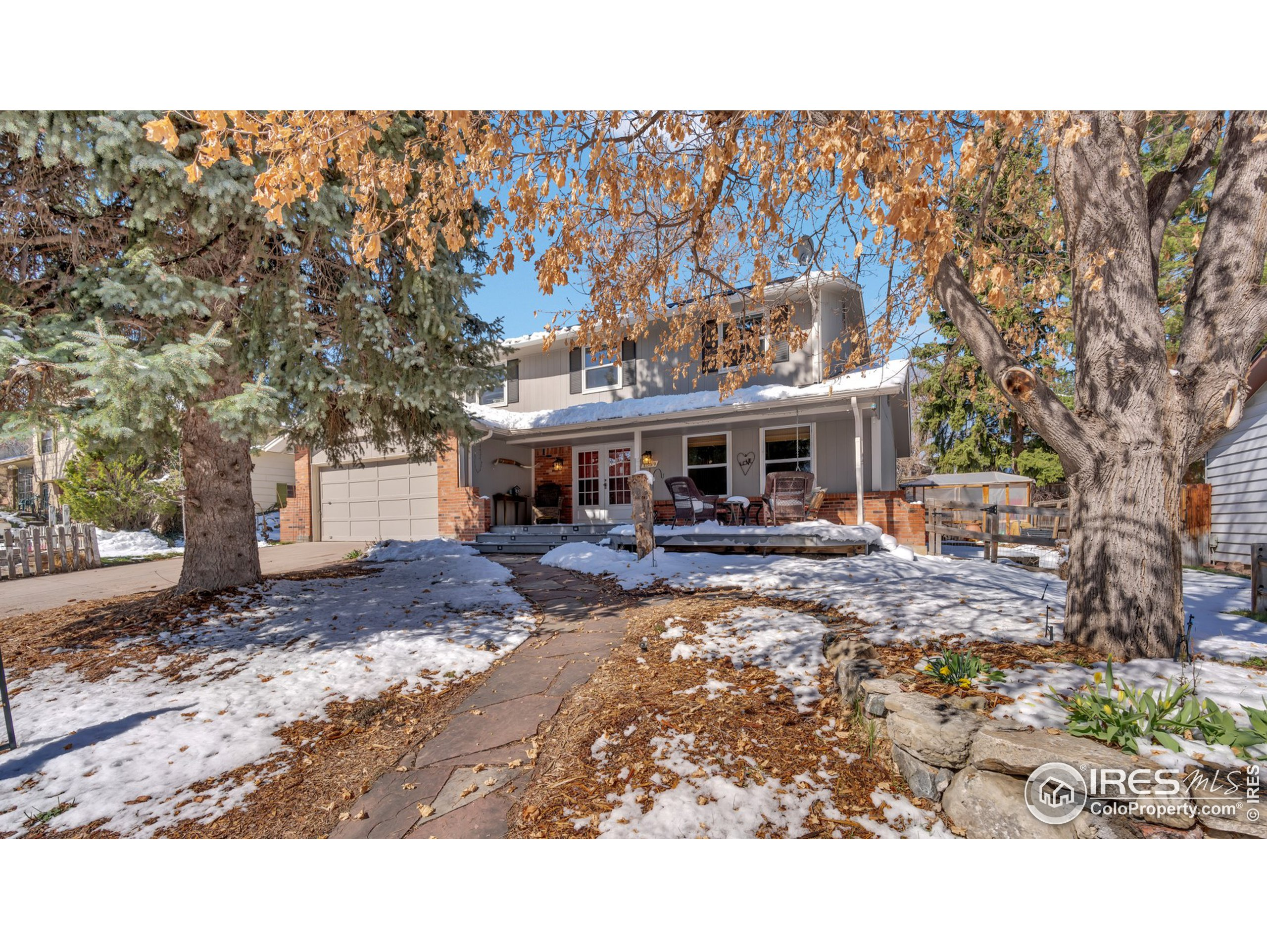 """Beautifully updated home centrally located between downtown Denver and the Mountains. Just a short 15 minutes to Union Station and Coors Field and 15 minutes to Red Rocks. Walk to 4 parks and brand new Kendrick Lake elementary school. Features mature trees in front yard, large front deck and covered porch, covered backyard patio, natural light in all rooms, fenced backyard, raised bed gardens, two backyard sheds and new flagstone patio and fire pit. Energy features include solar PV system (leased), NEST thermostat, high-efficiency Amana furnace, Wi-Fi controlled B-HYVE sprinkler system and evaporative cooler. Large master bedroom with built in designer closet and oversized shower. Remodeled upstairs bathrooms, and remodeled cook's kitchen with butcher block countertops, designer cabinets with 42"""" uppers, gas range and stainless appliances. Bamboo flooring throughout main level and new upstairs carpet. This home is the turnkey home you have been looking for, just move right in!"""