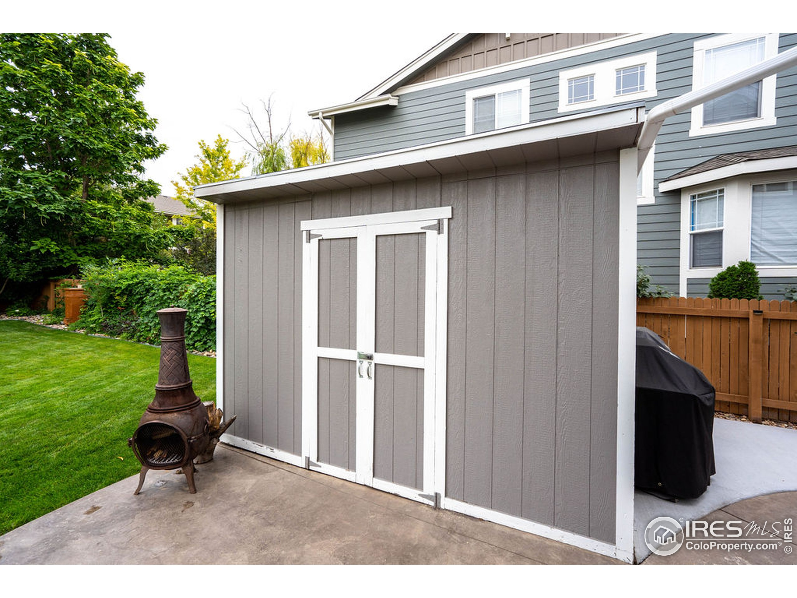 Shed Included
