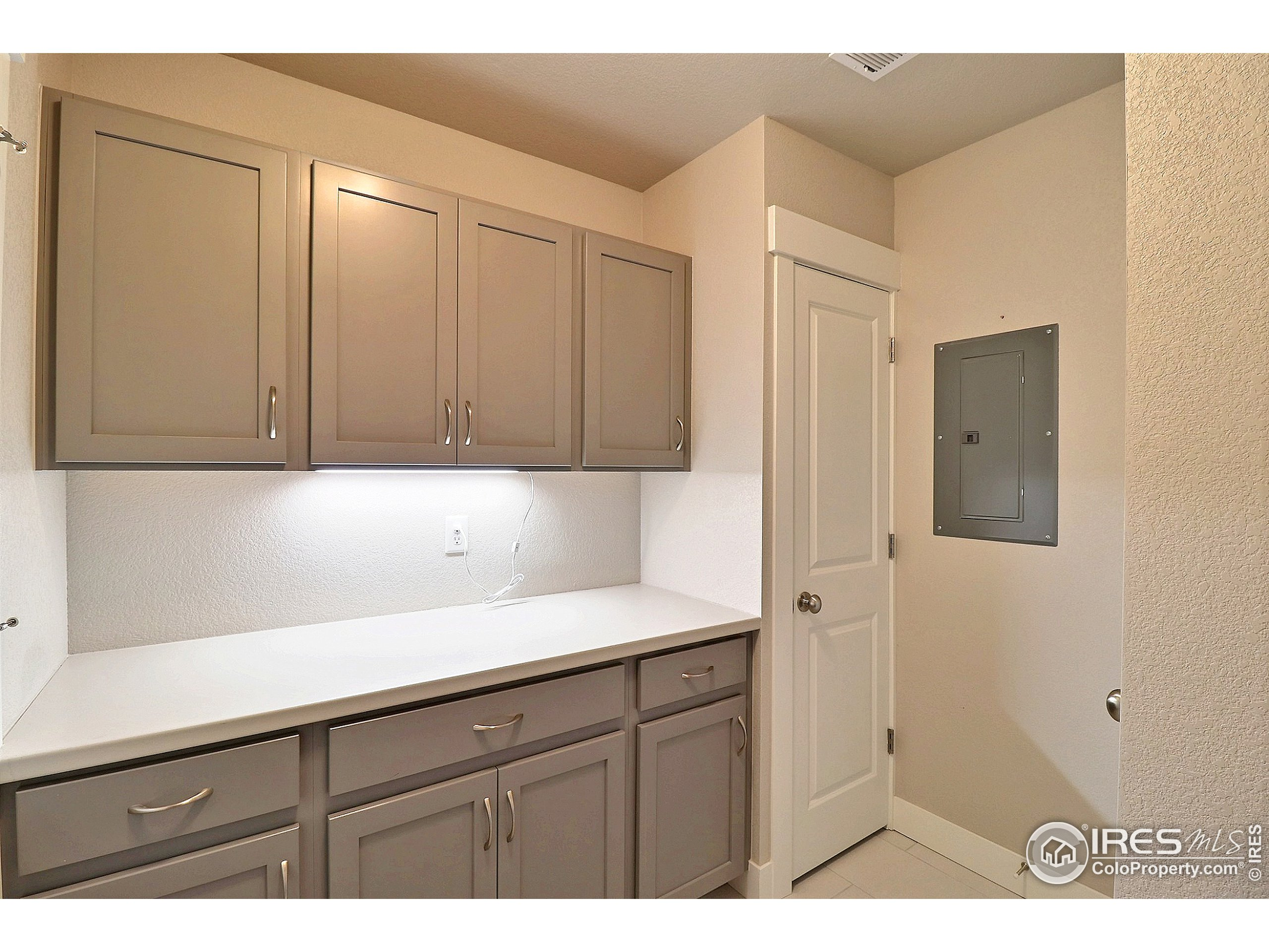 Laundry Room with Built-Ins