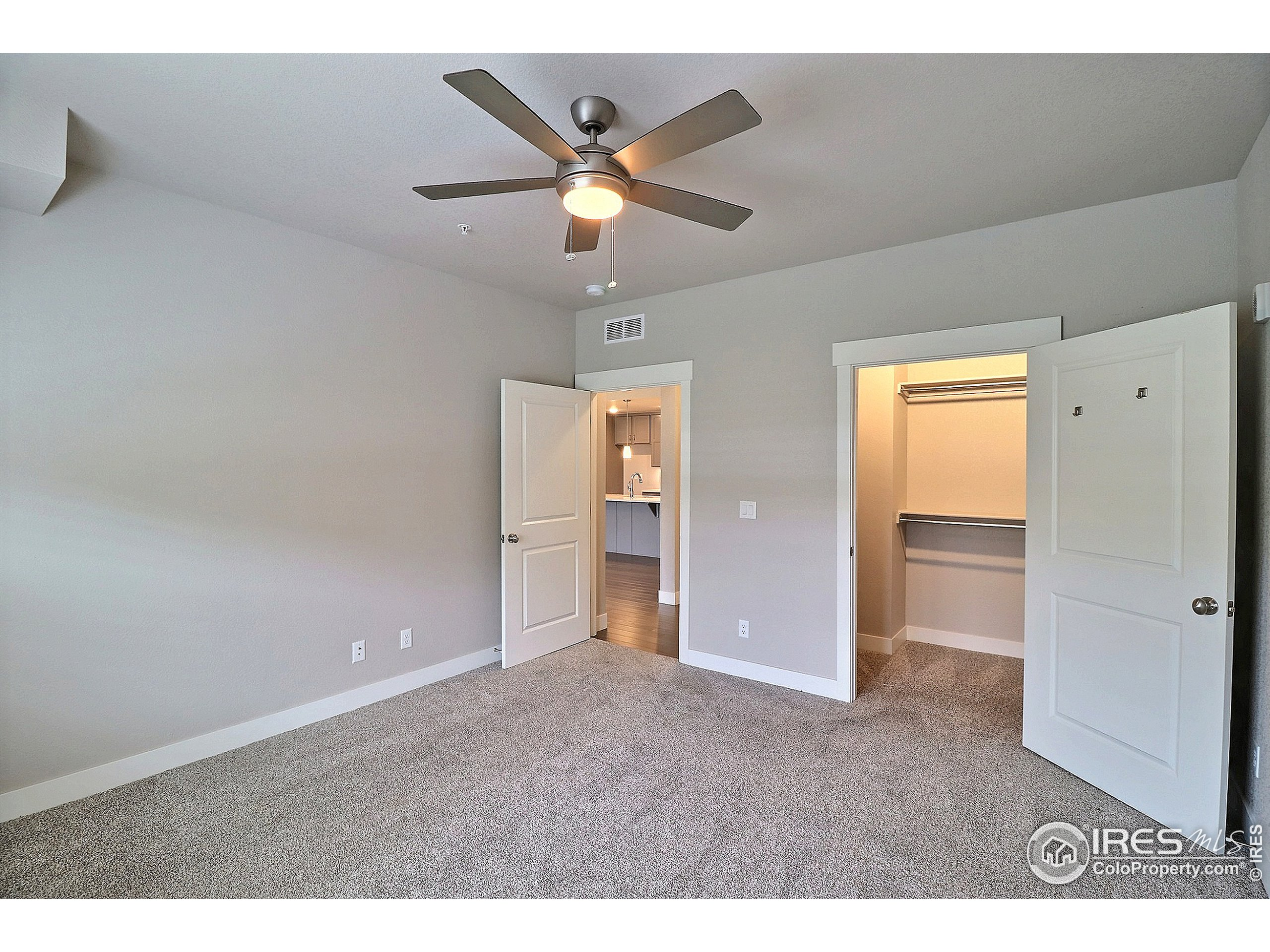 with Walk-In Closet