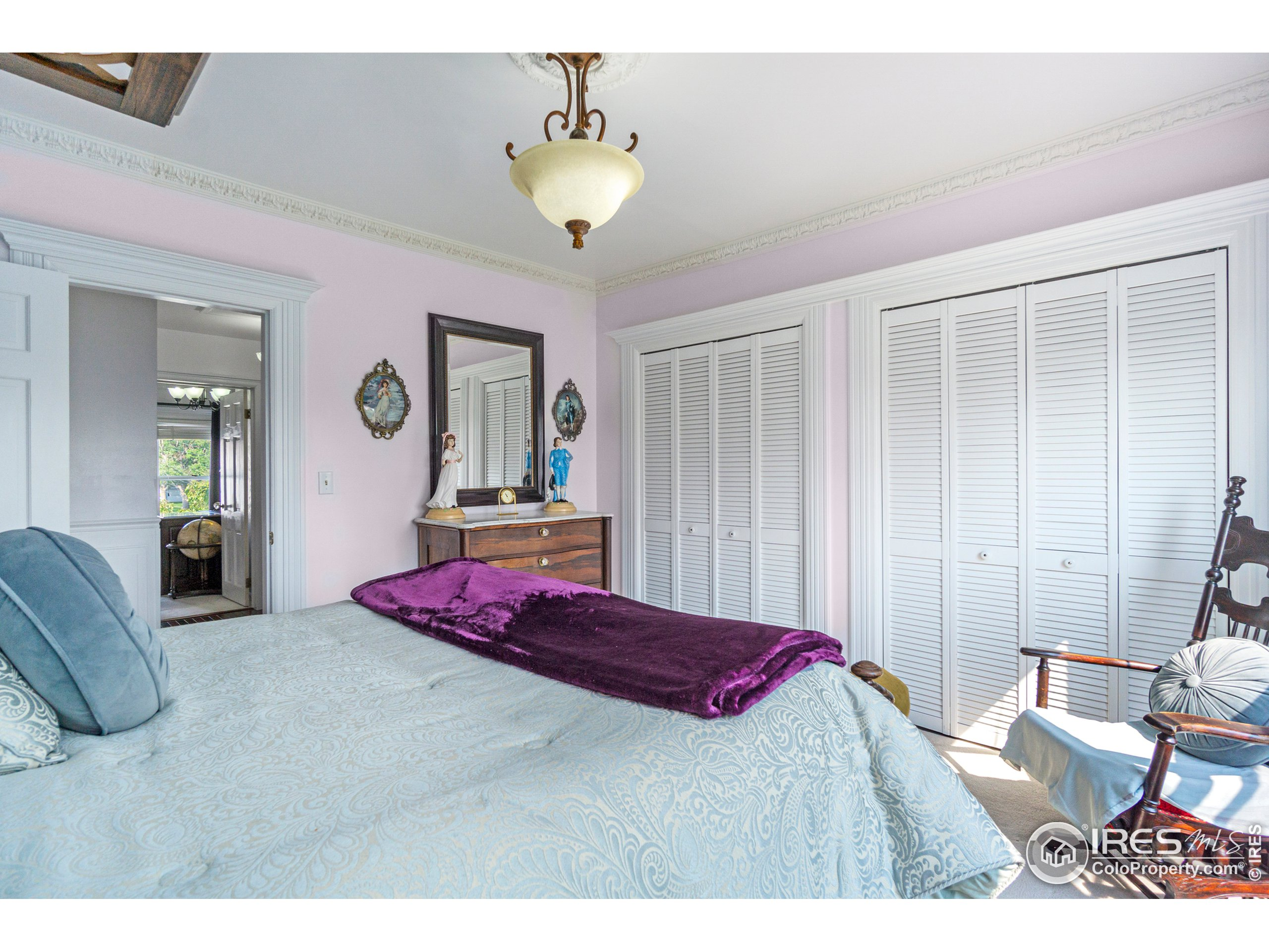 Large Closet in Guest Bedroom
