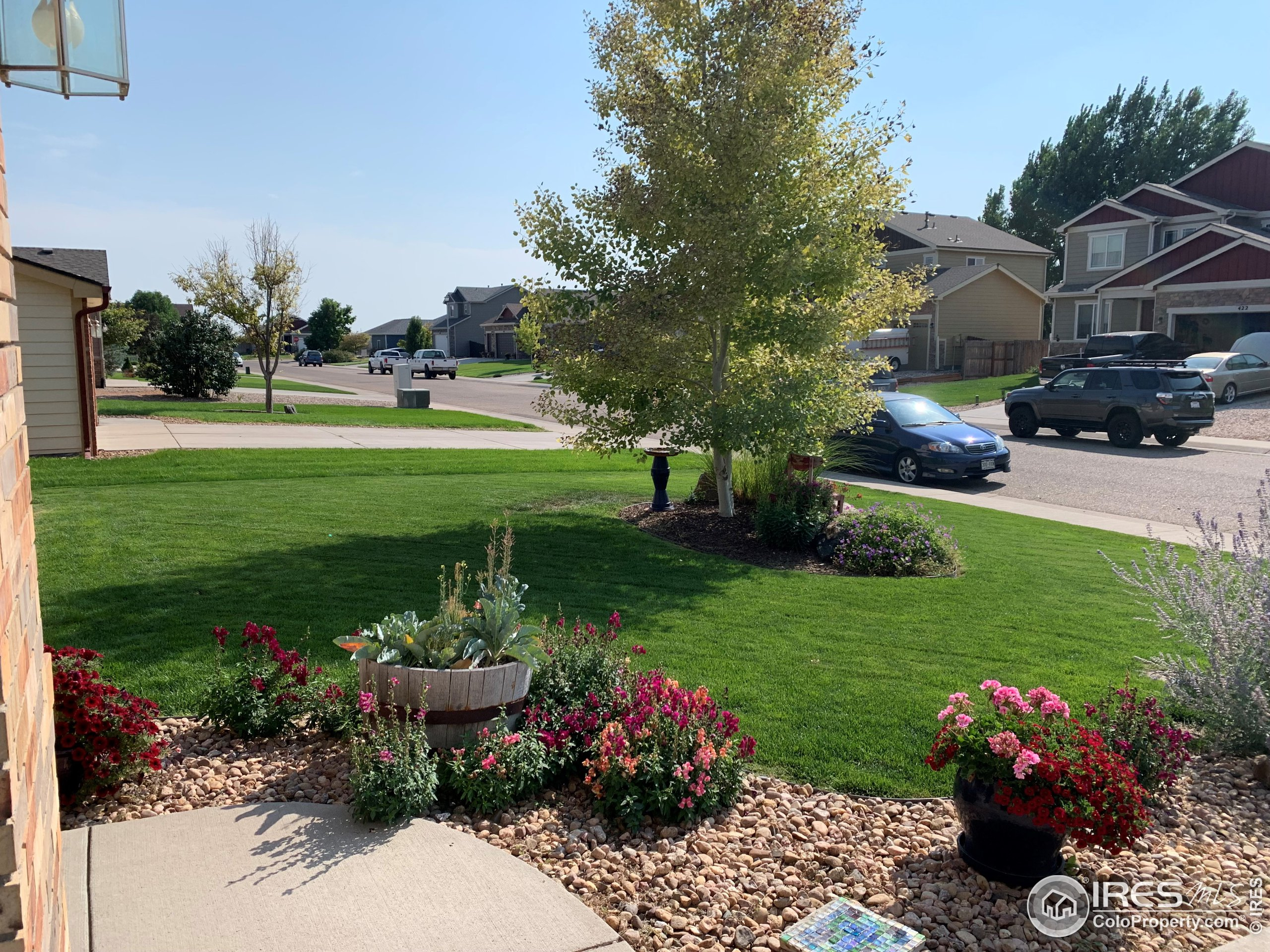 This beautiful curb appeal makes this home the gem of the neighborhood.