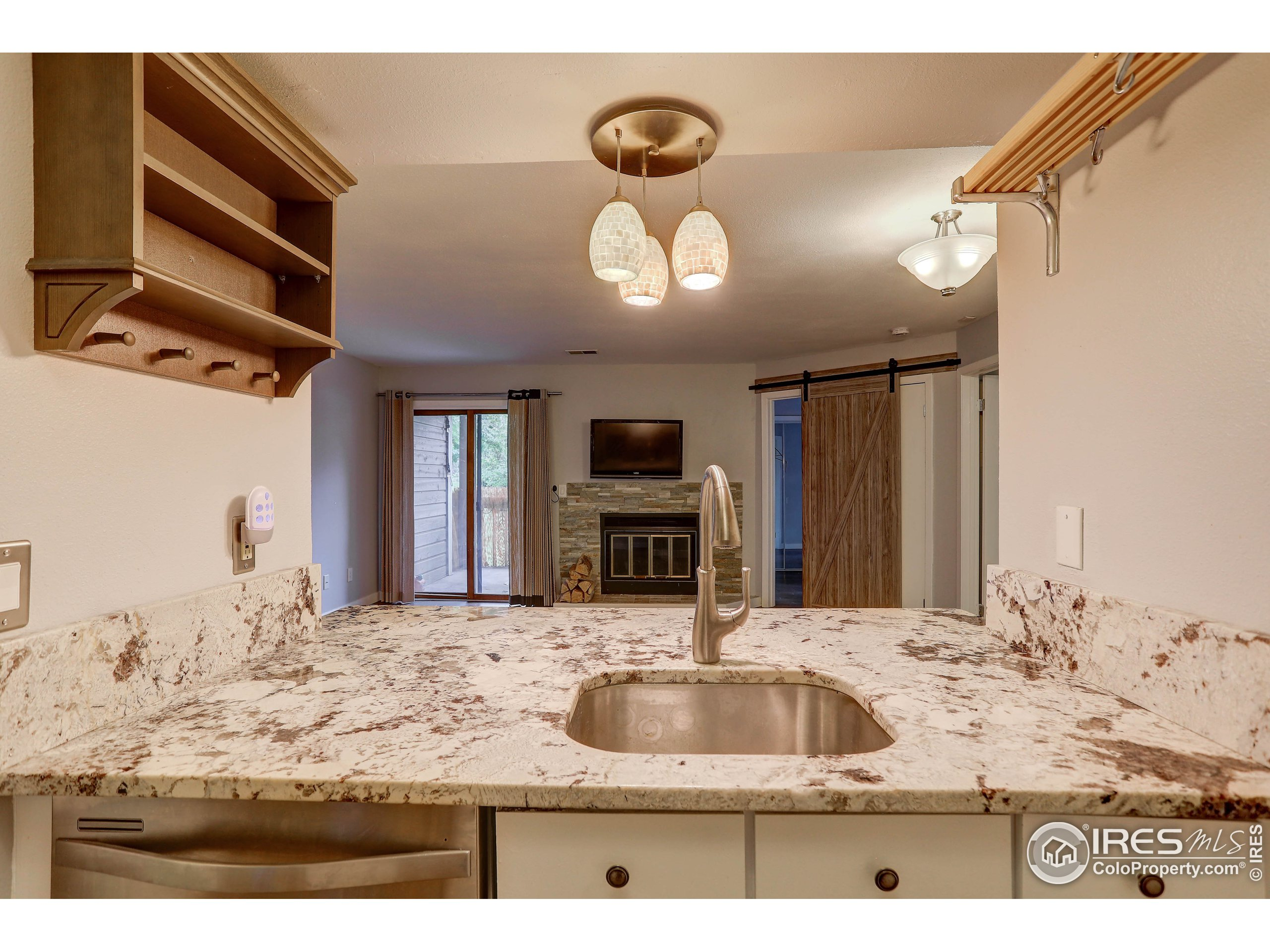 Granite Counters with Stainless Appliances