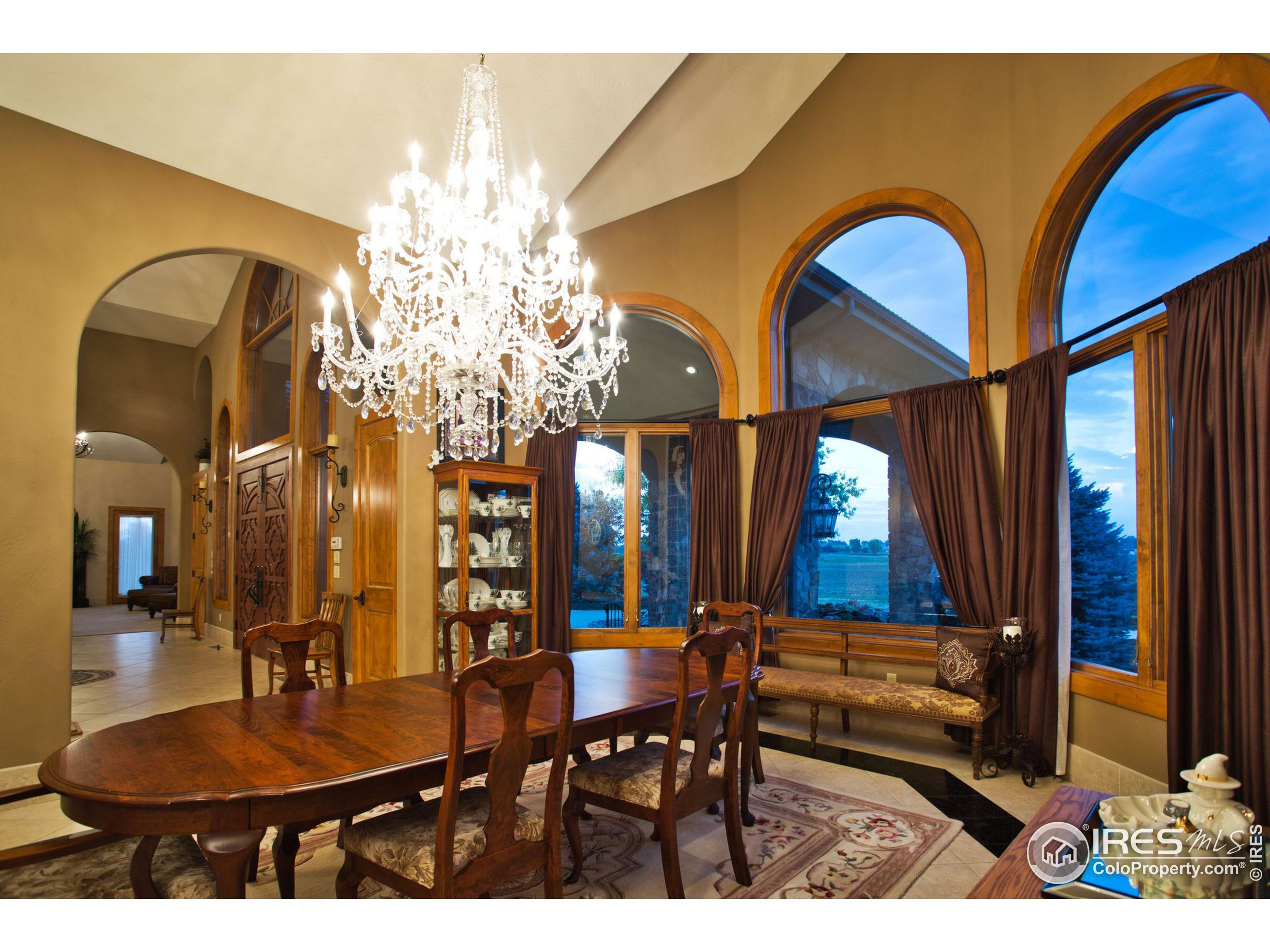 Formal dining, with views!