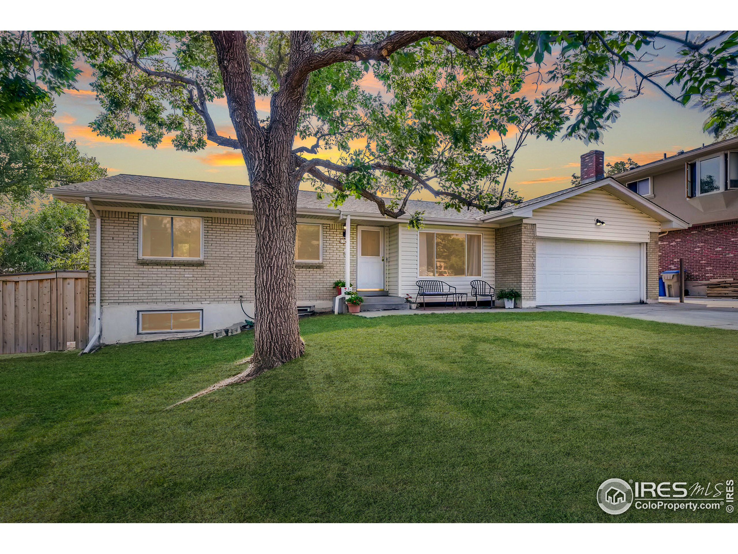 What a location! Coveted Green Mountain Village Ranch style home on a cul-de-sac across from Green Mountain High School.  Convenience to amenities shines as you are close to the rec center w/indoor pool, open space with trails and plenty of shopping and dining! This ranch home features a formal living and dining room, updated kitchen with stainless steel appliances, new white cabinetry and updated countertops.  The adjoining family room features a cozy fireplace.  The primary bedroom includes an updated 3/4 bath, and 2 additional bedrooms share the main level full bathroom. A daylight basement provides space for a large rec room, 2 additional bedrooms, 3/4 bath and laundry room.  Newer carpet and laminate on the main level with wired internet in most rooms. Fully fenced backyard has a shed and mature trees.  Enjoy the Colorado lifestyle with all the amenities so close to home!