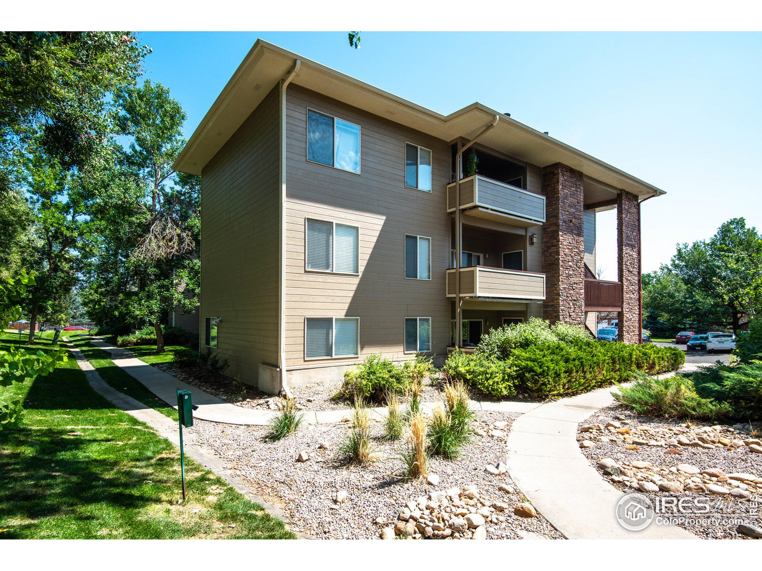 Updated condo in Rockbridge in Fort Collins.  1100+ Sq. Ft. 2 Nice sized bedrooms each with its own bath.  New paint and flooring. Nice deck. Laundry room and nice sized kitchen. Very close to the pool and clubhouse. New furnace and air conditioning coming soon.  Show it today!!