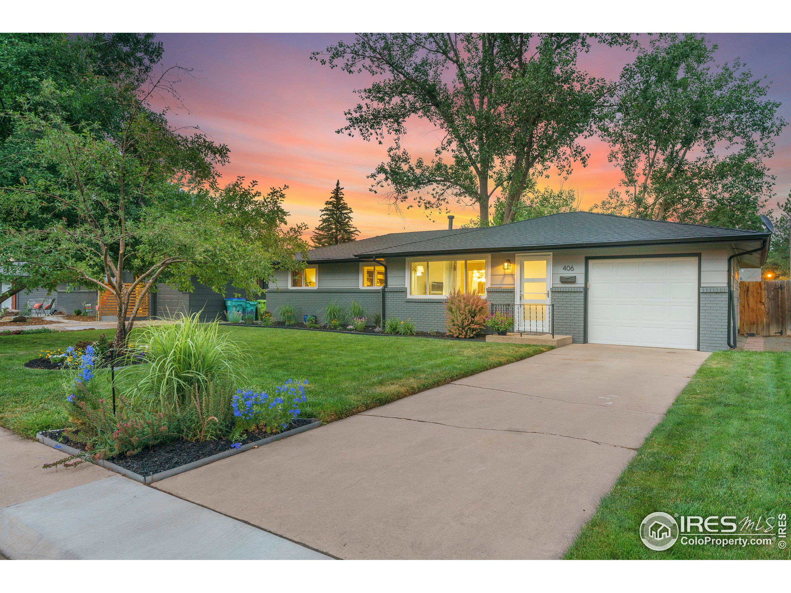 Live in a home that feels like its straight out of a magazine, that is minutes from Old Town Ft. Collins and city park! Upgrades have been made in almost every square inch of this home. Expansive lot that feels like a park! Take advantage of living where you can walk or bike to all the coolest places and events throughout the year. Nothing needs to be done, it is move-in ready!