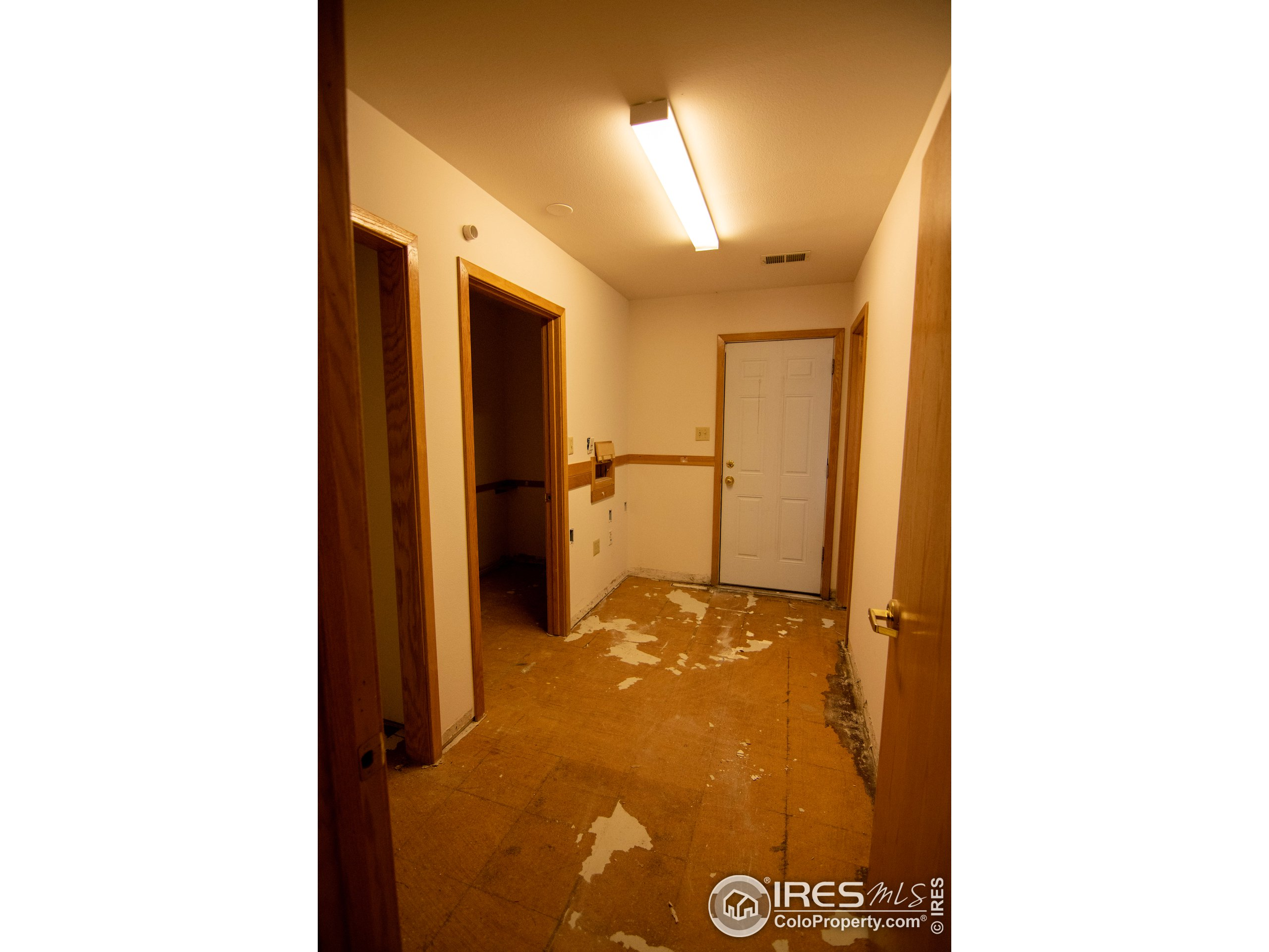 Private entrance/Office or multi use room.  The 3rd restroom is located off this room.