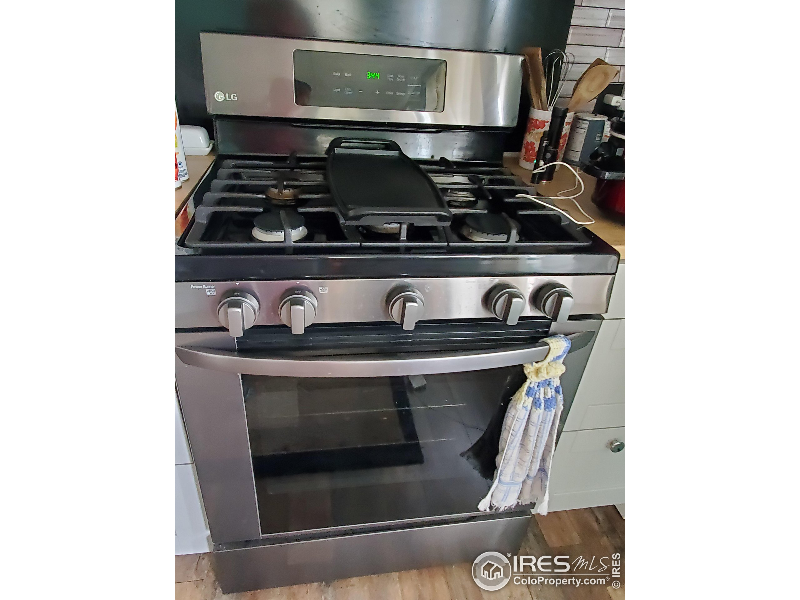 New gas stove/oven