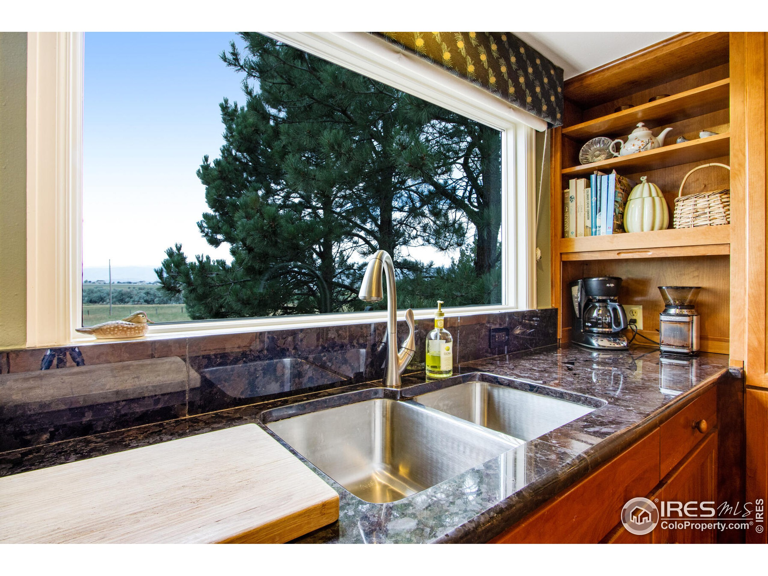See for miles - Gorgeous views even from the kitchen sink!  High-end slab granite. Solid cherry cabinetry, fully remodeled to perfection.