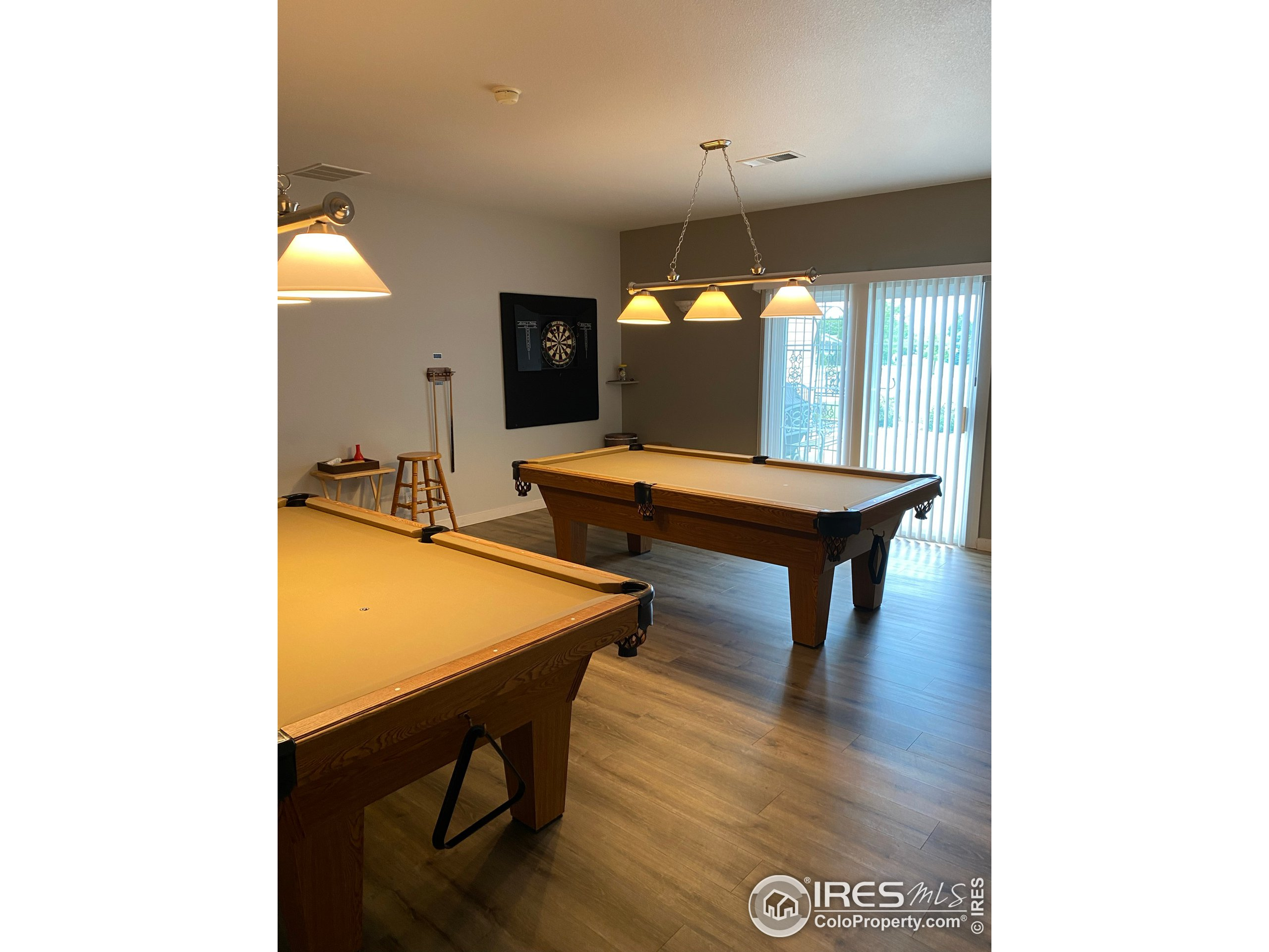 rec room in club house