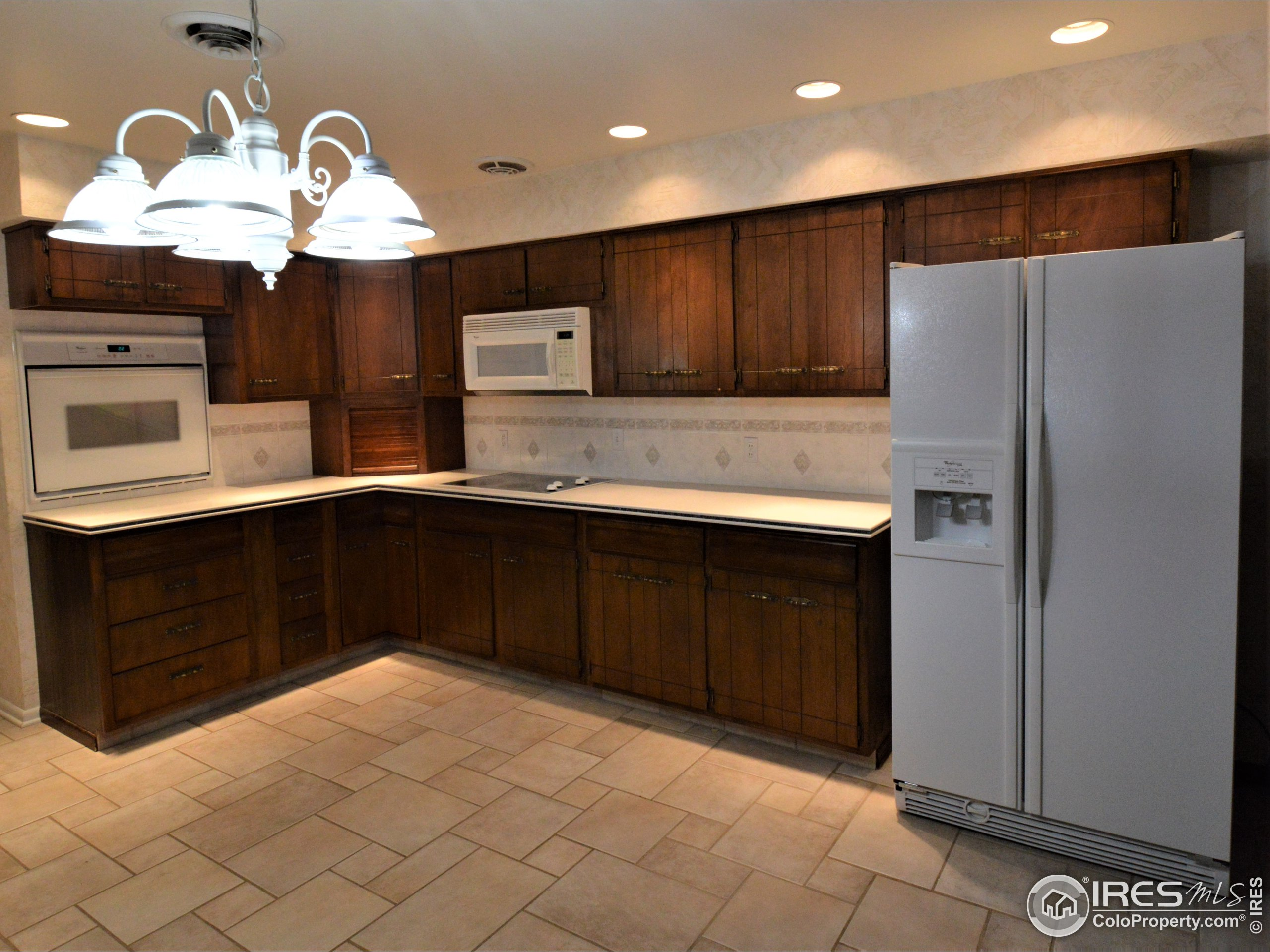 Lots of Counter Tops and Cupboards