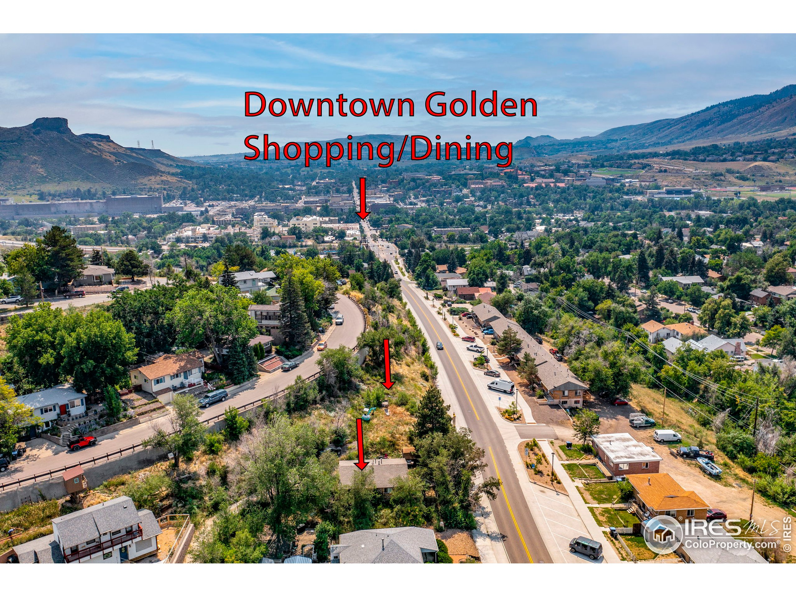 Walking distance to Old Towne Golden