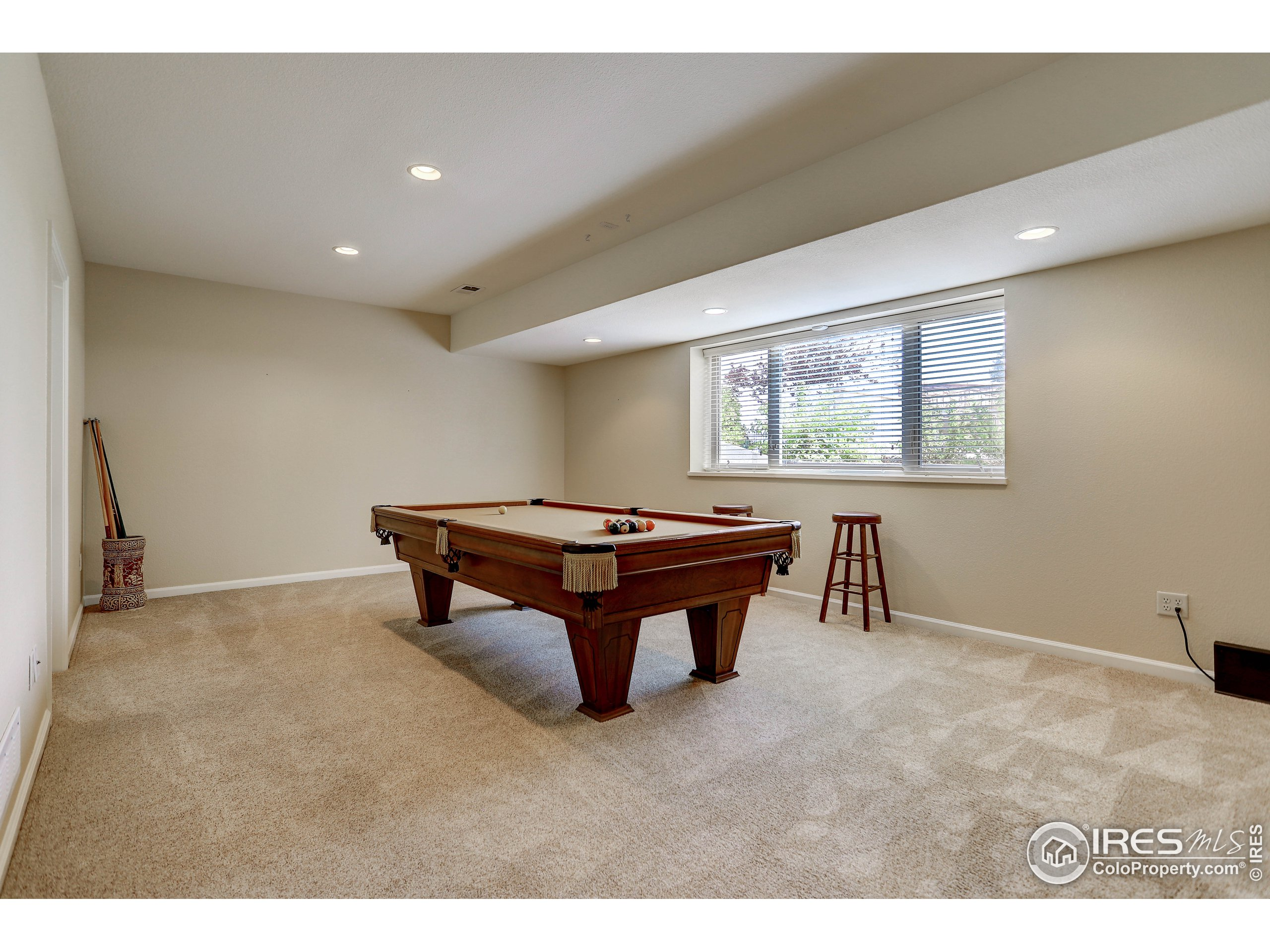 spacious rec room, or potential additional bedroom suite