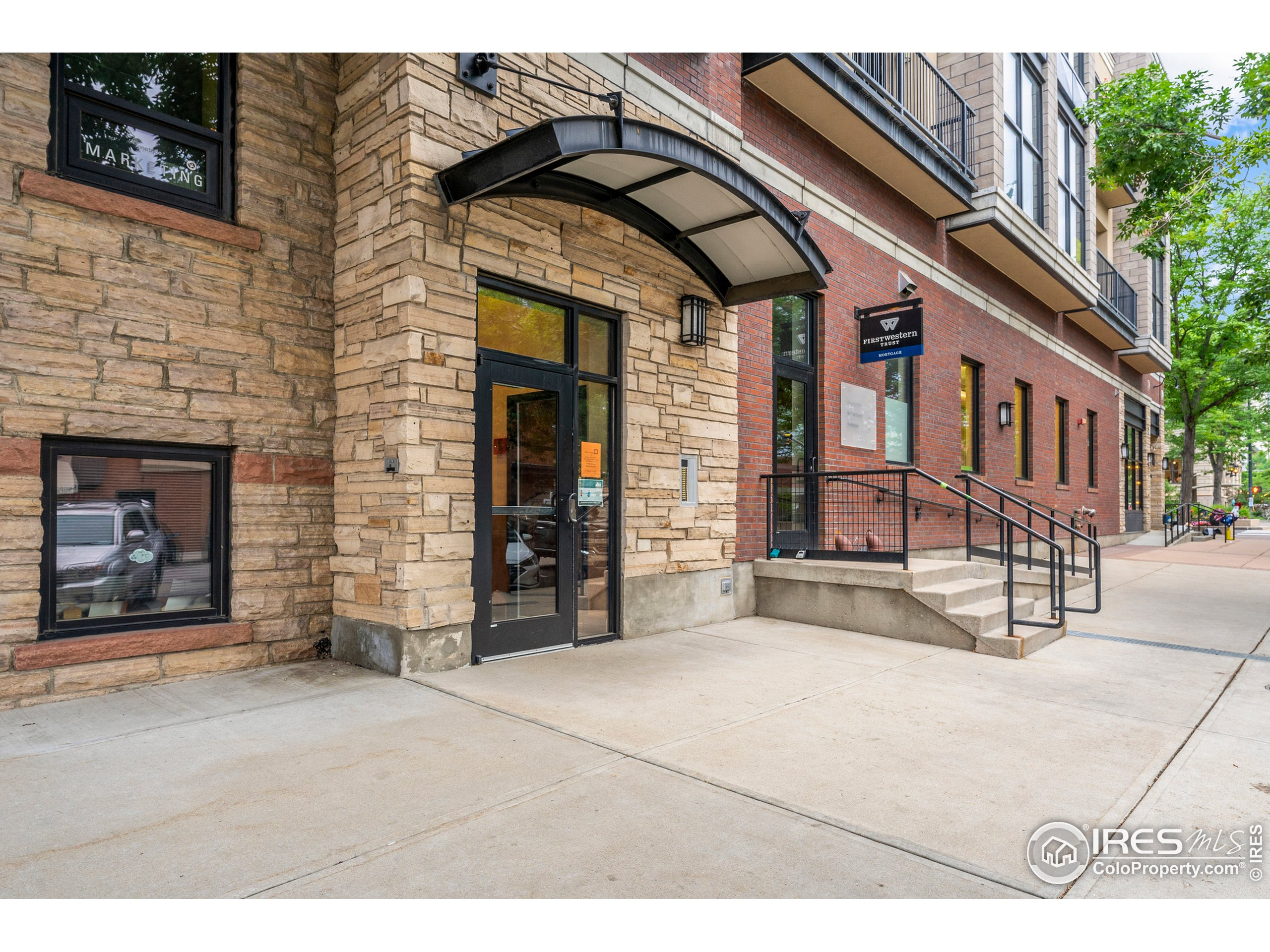 YOU CANT BEAT THIS LOCATION! Situated in the heart of Old Town Fort Collins, this modern-industrial loft is close to award-winning breweries, restaurants, local distilleries, live music and shopping. Located on the 3rd floor of a secured building with an elevator, this condo features stunning floor-to-ceiling windows and patio directly overlooking both College Ave and Oak Street in Old Town! Industrial lighting, exposed ductwork, open floor plan, tall ceilings, W/D and an updated kitchen with bar seating for four, pendant lighting. All appliances are included!