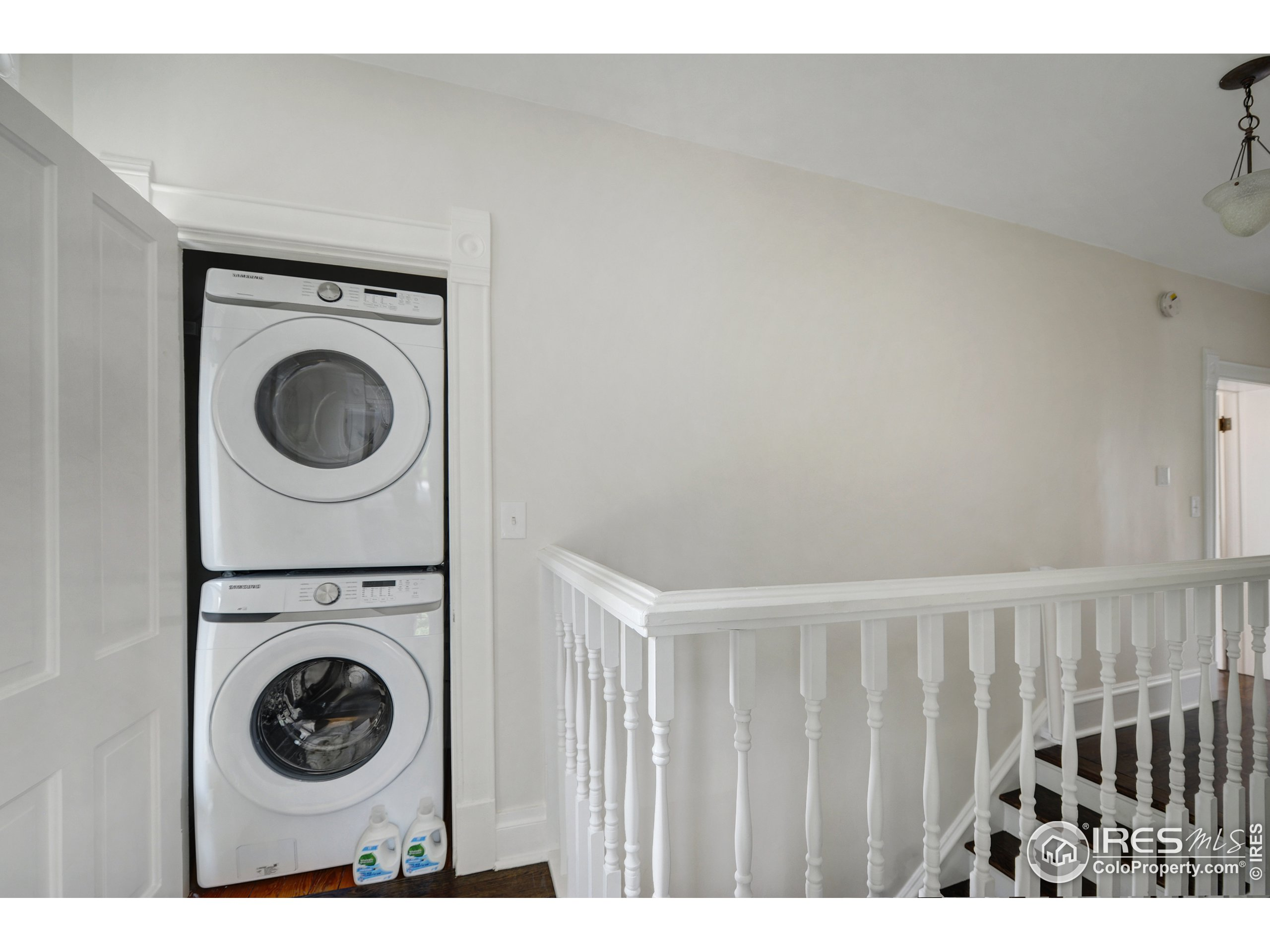 Convenient 2nd story laundry in addition to basement laundry room