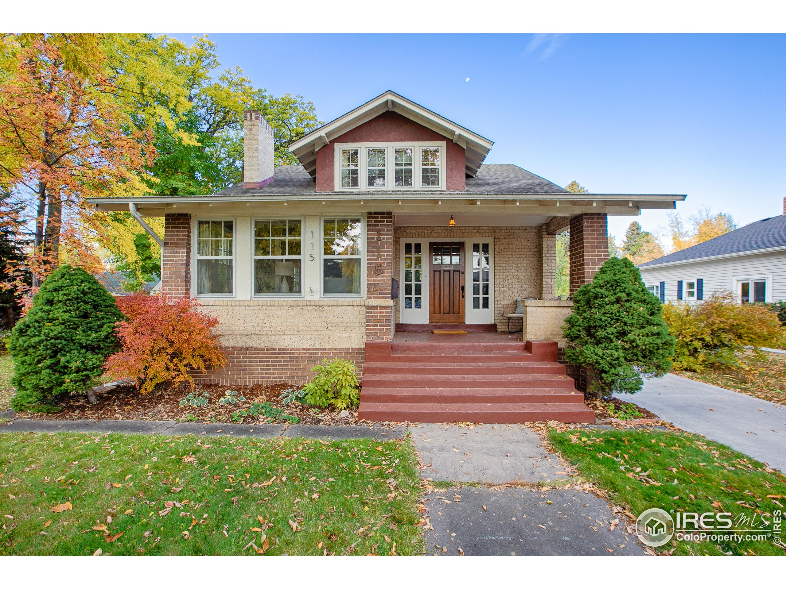 Stately & Stunning Craftsman style, all brick home. Built circa 1919, this stunning 1 1/2 story home features 4 bedrooms (1 non-conforming) and 2 full bathrooms punctuated by period specific finishes. The main floor features a gorgeous sunroom, open floor-plan, which connects the sun room, living room, dining room & kitchen. Located to the north of the kitchen is 2 bedrooms, an office/flex space and 1 of the full bathrooms. The 2nd story of this home contains the Primary Suite. A glorious retreat measured at 702SF. This space offers a walk-in closet, a secondary closet and an updated full bathroom. Also contains a partially finished basement area w/ living room, fireplace, additional non-conforming bedroom/office area, storage space, laundry & mechanical room. The basement has 2 access points w/ a staircase leading to the backyard/sunporch. The backyard is private, lovely and well-maintained.  Steps from Downtown, Mountain Avenue, Little on Mountain, City Park and Beaver's Market!