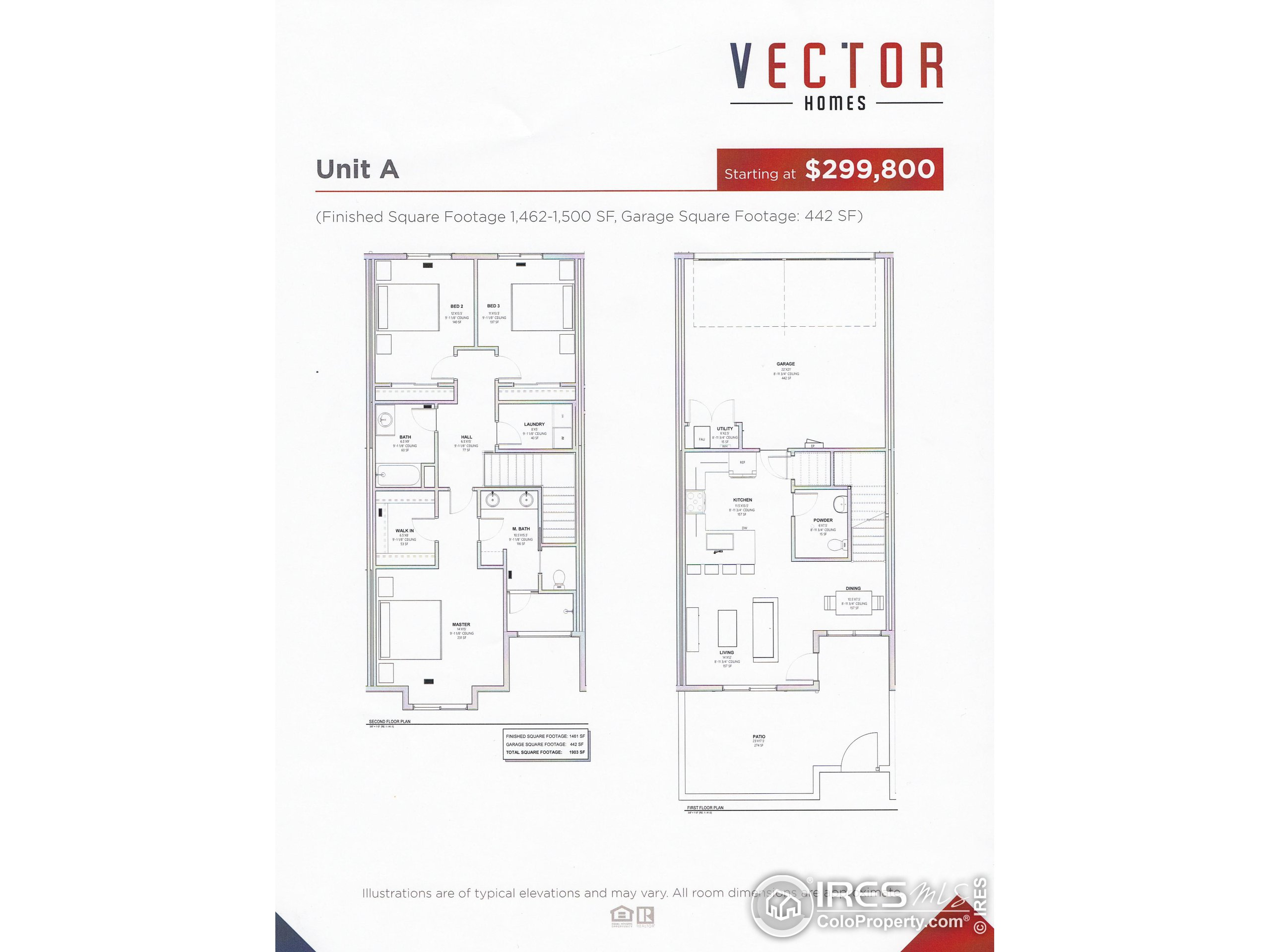 Floor Plan A - To Be Built
