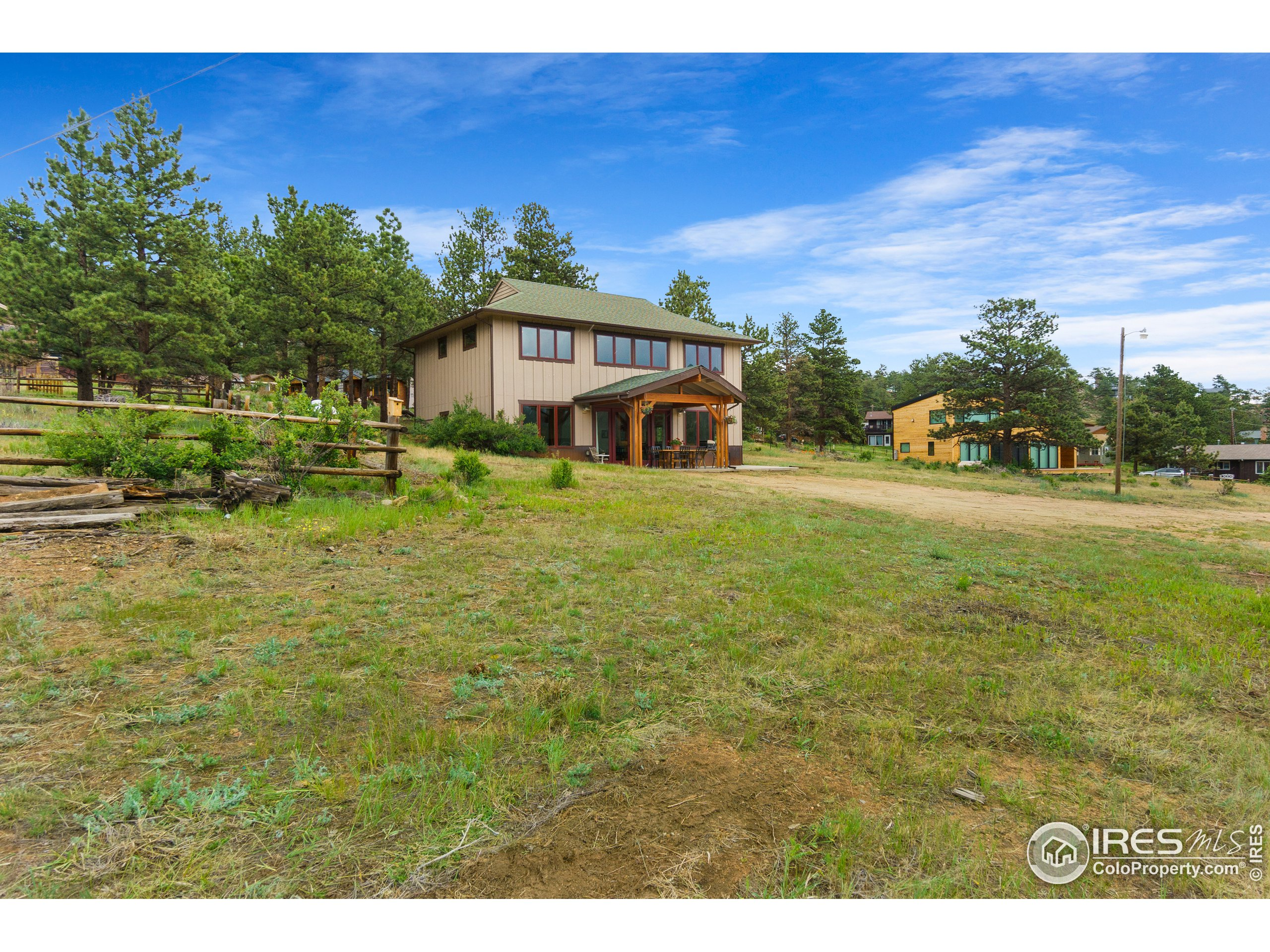 Close to 1 acre parcel in town