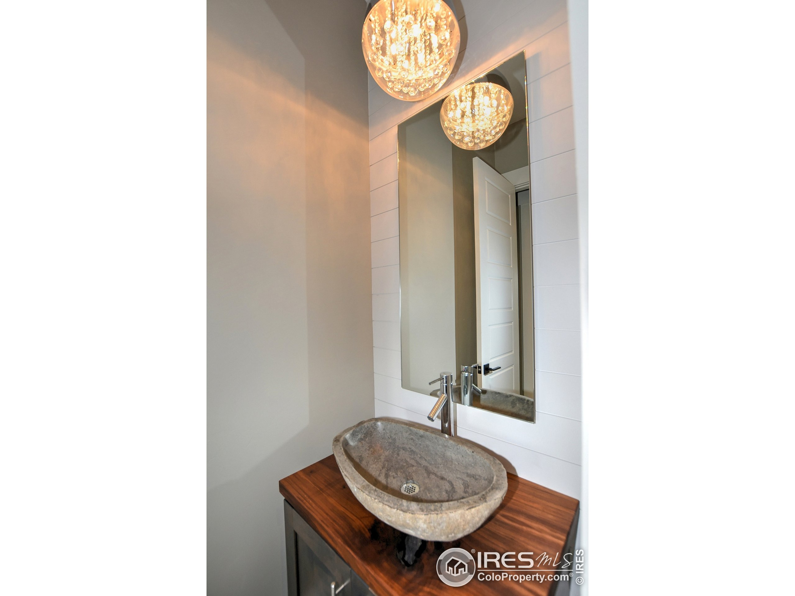 To be Built - Photo of a Past Build - Main Level Powder Bathroom