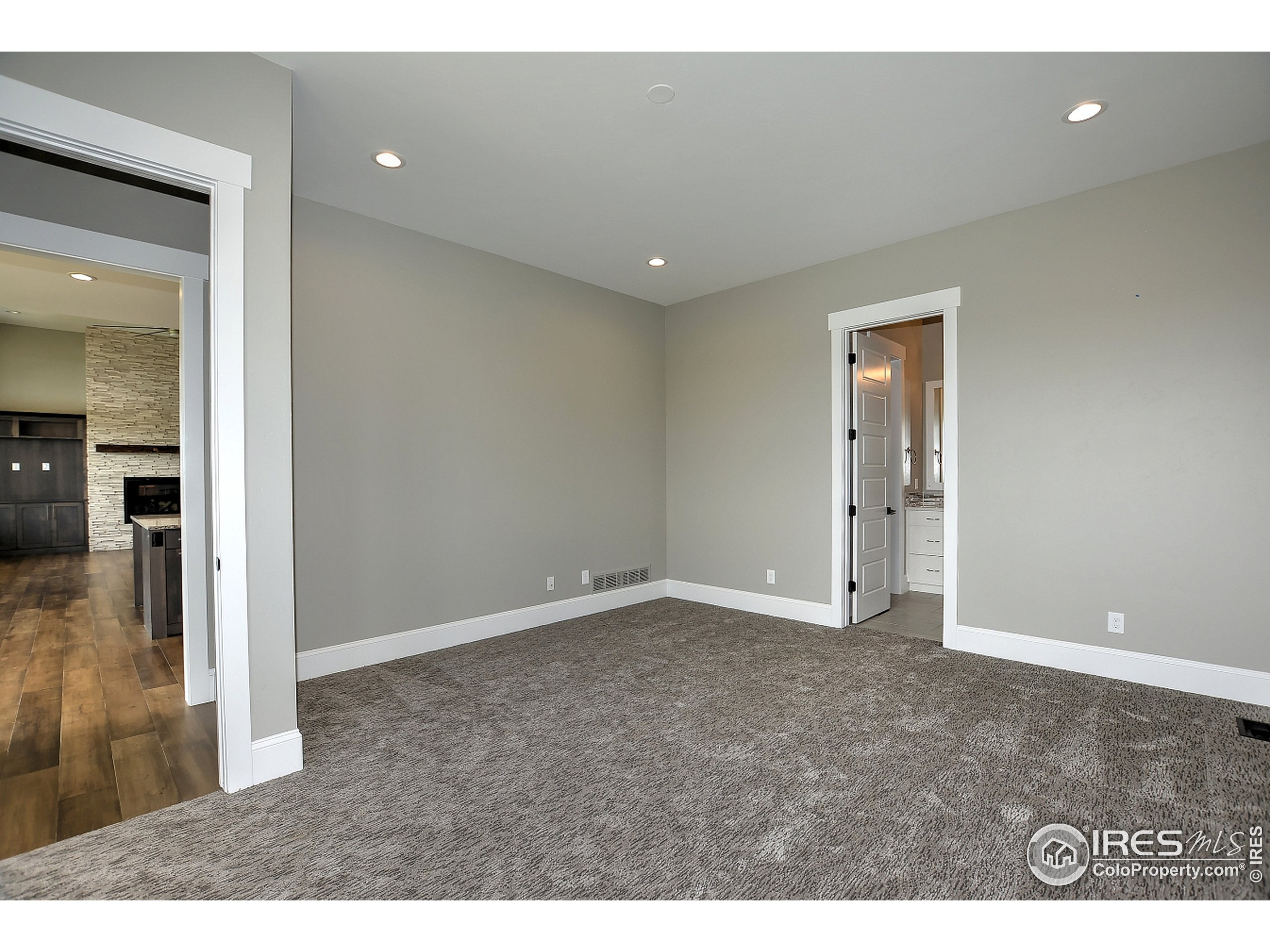 To be Built - Photo of a Past Build - Main Level Bedroom 2