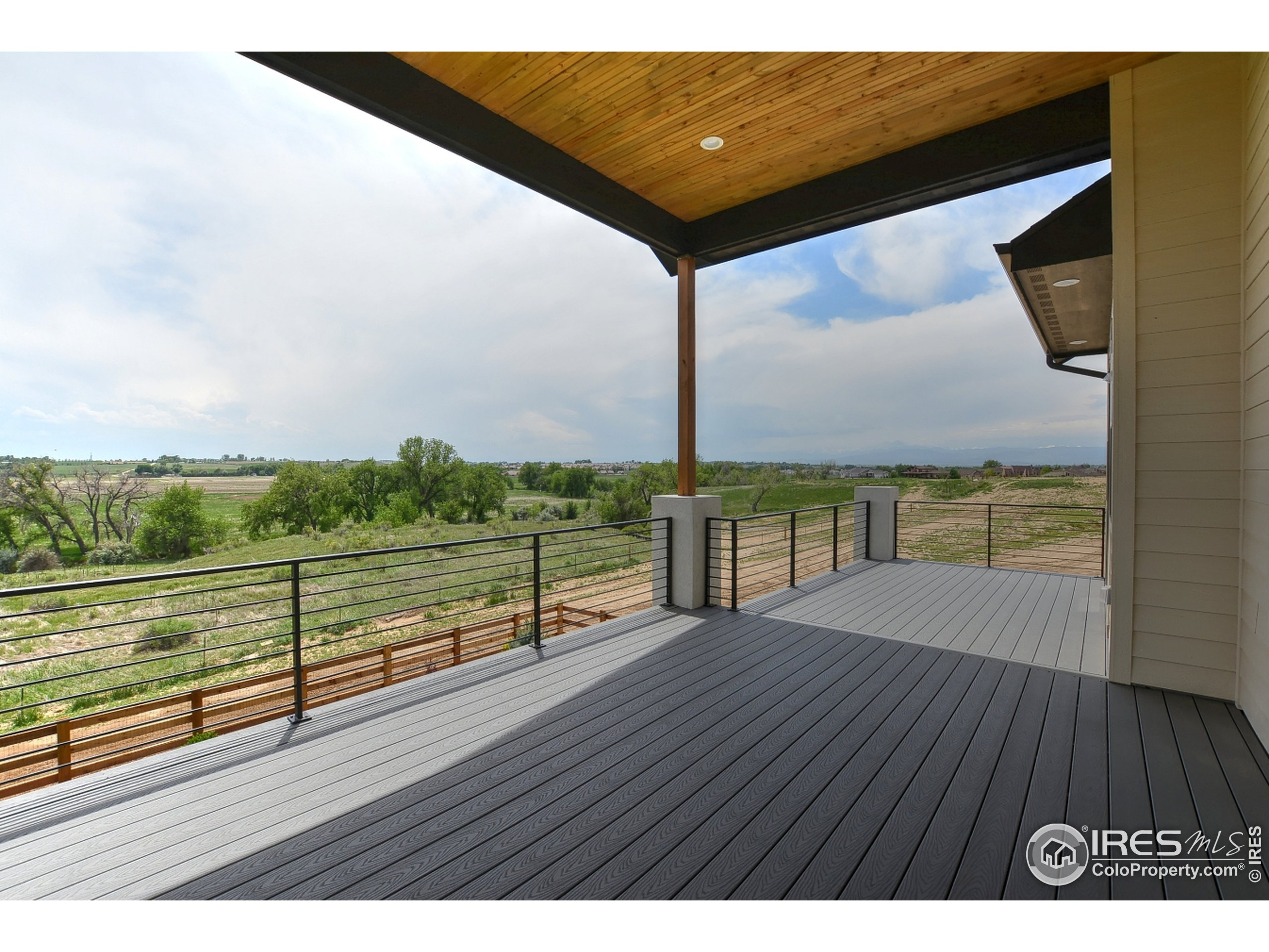 To be Built - Photo of a Past Build - Rear Deck (Will be a patio on home to be built)