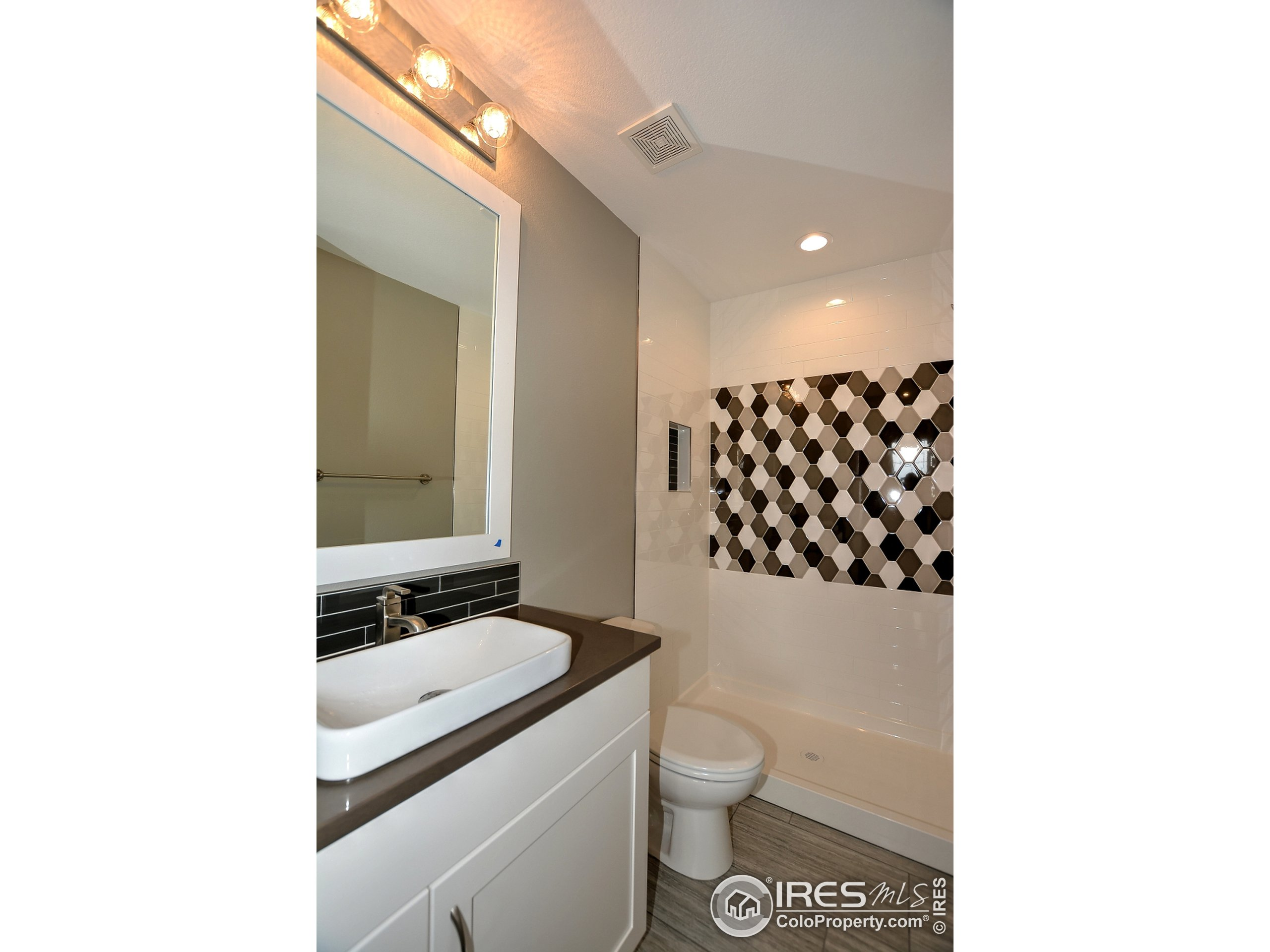 To be Built - Photo of a Past Build - Basement Bathroom 3