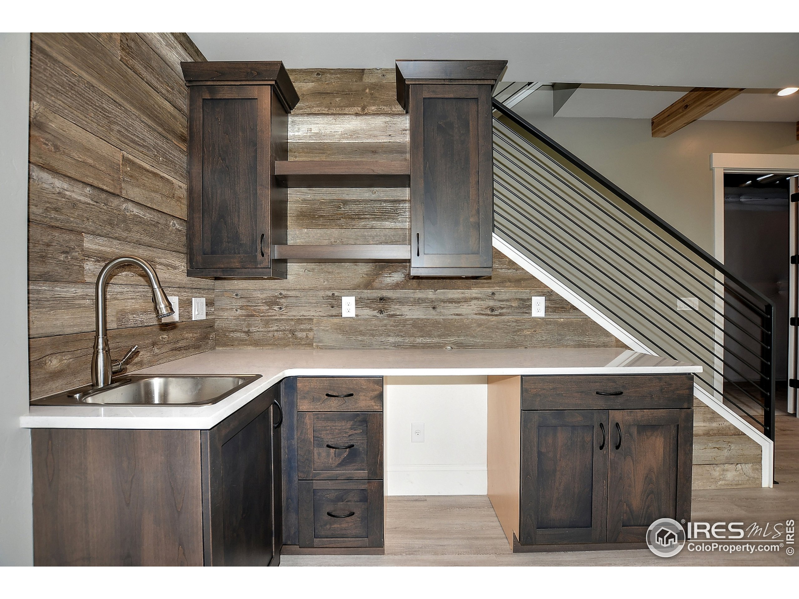 To be Built - Photo of a Past Build - Basement Wet Bar