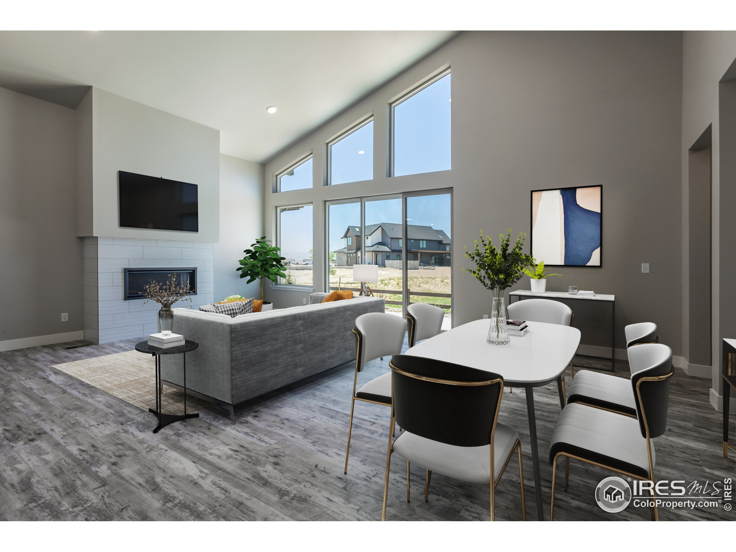 EXAMPLE PHOTO: DINING ROOM, GREAT ROOM & KITCHEN