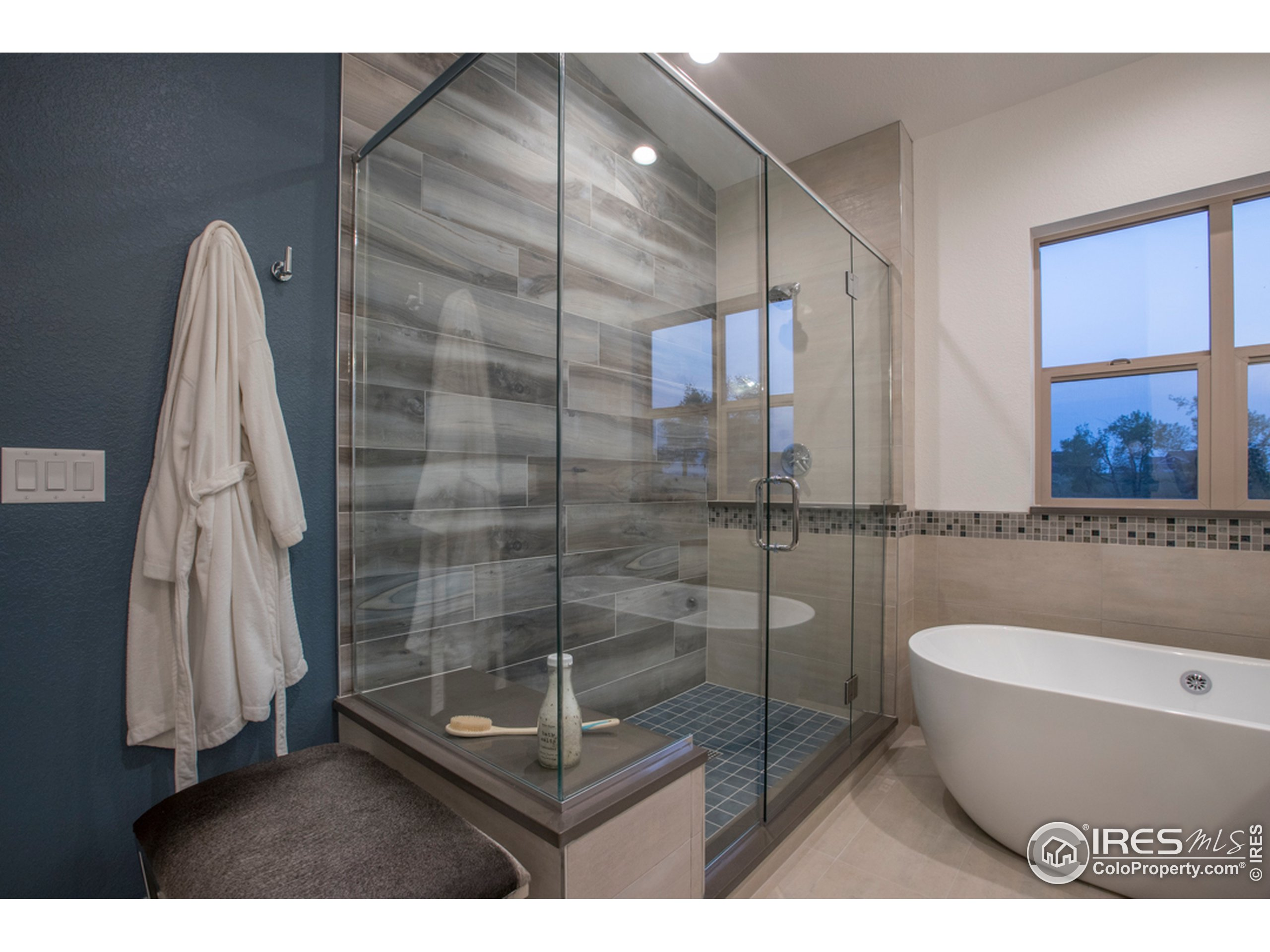 Master Bath with optional Stand-Alone Tub