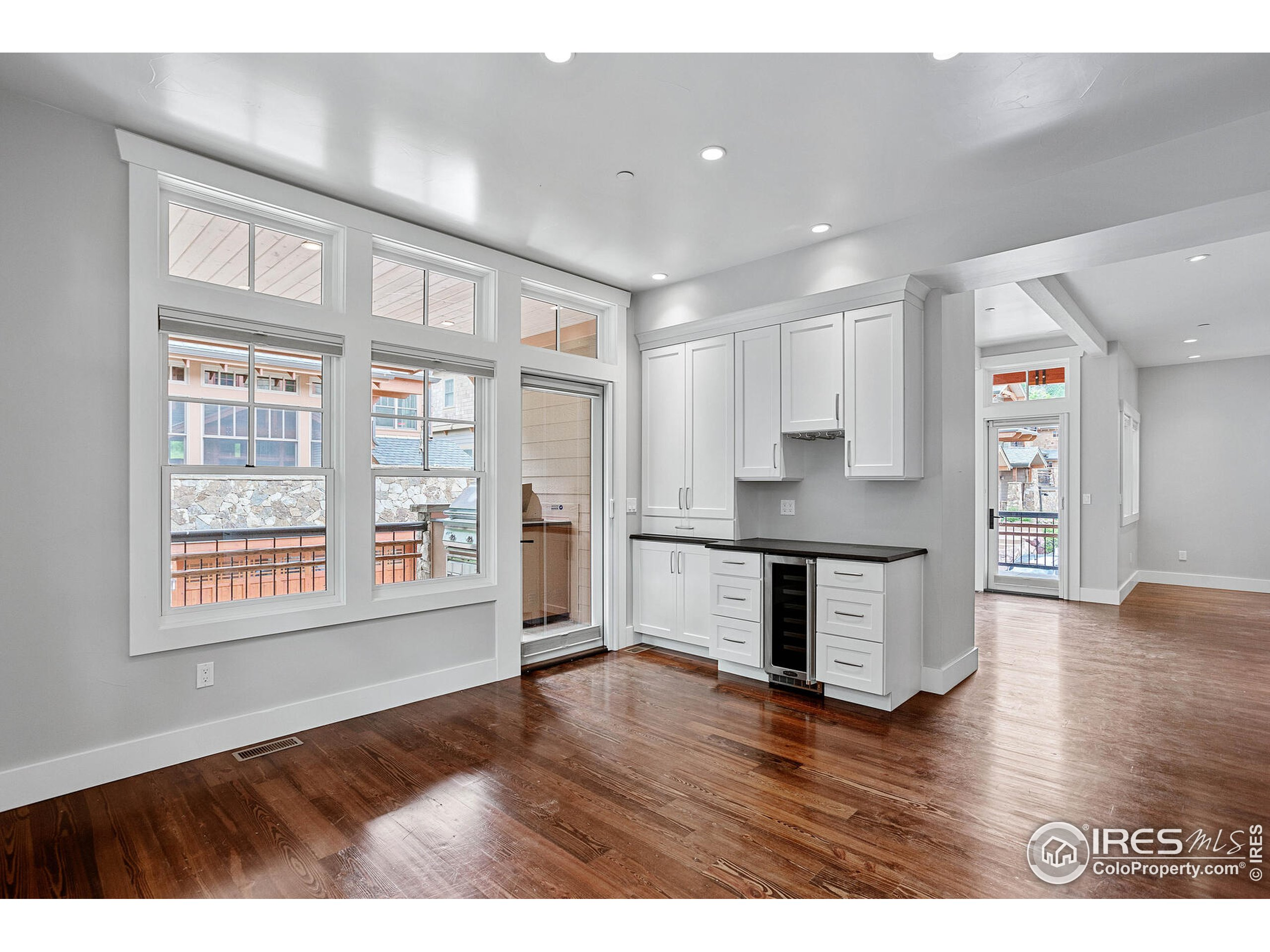 Tall Ceilings and Large Windows Really Open the Space Up!