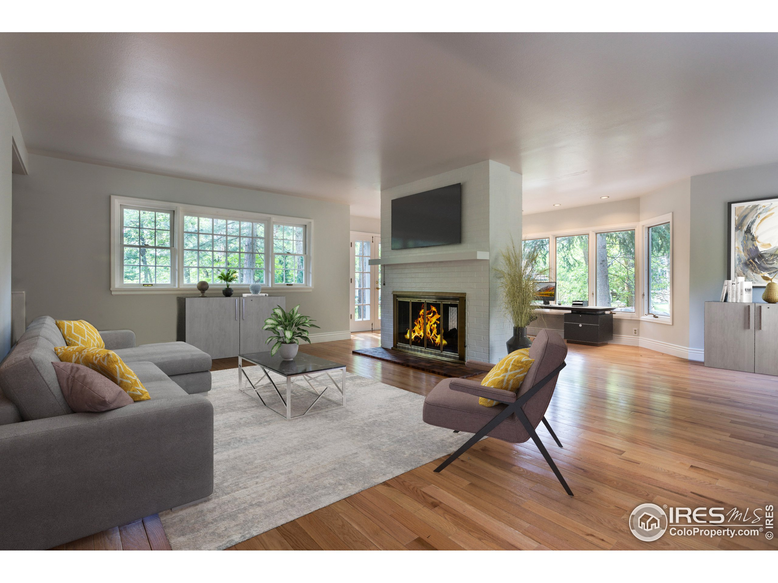 Living Room (VIrtually staged)