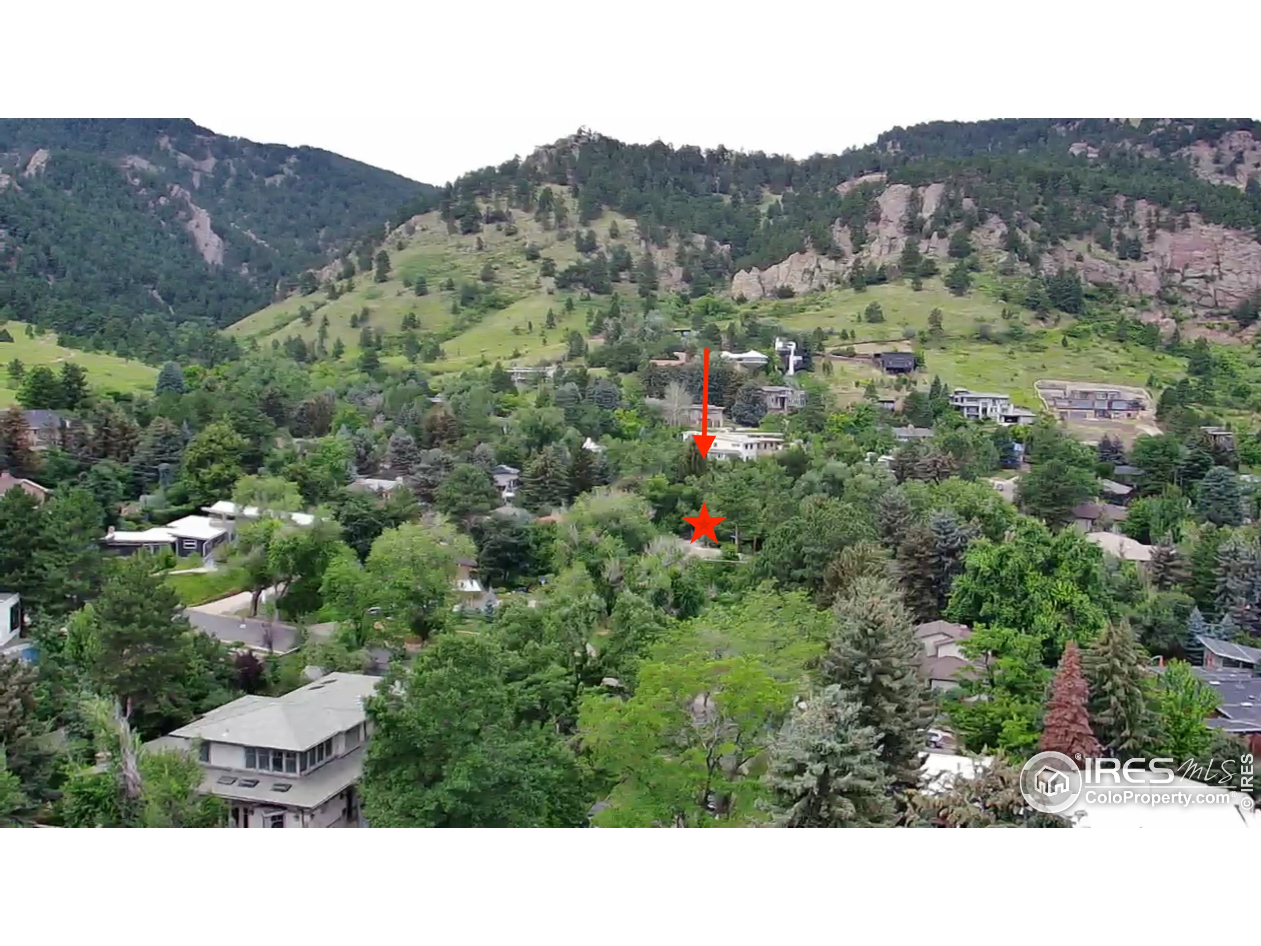 Close to miles of open space and trails!