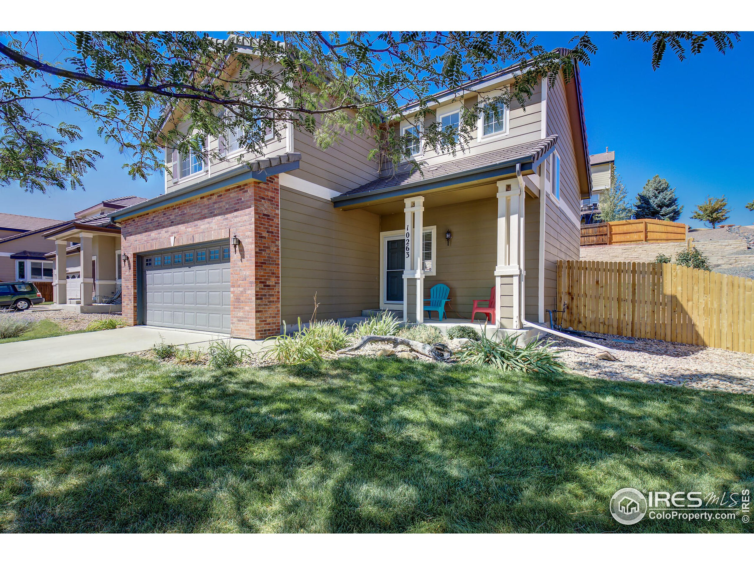 2 story home in Meridian subdivision