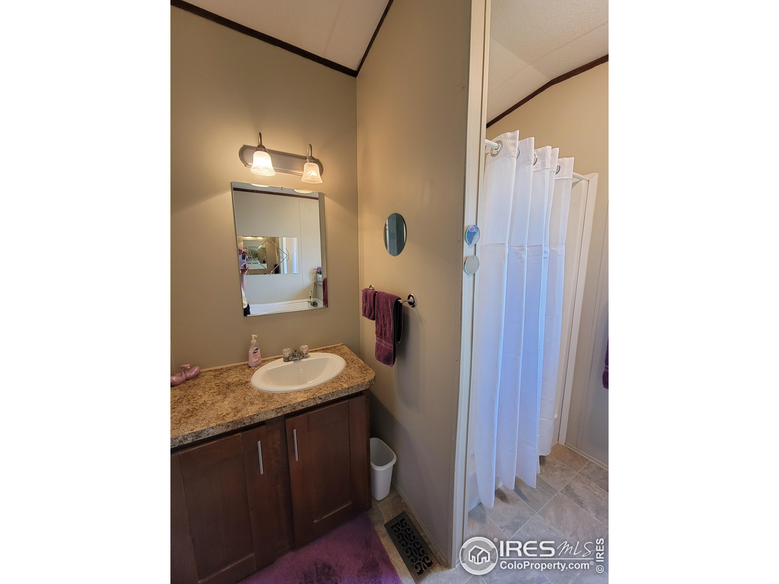 Master Bath and Shower Stall