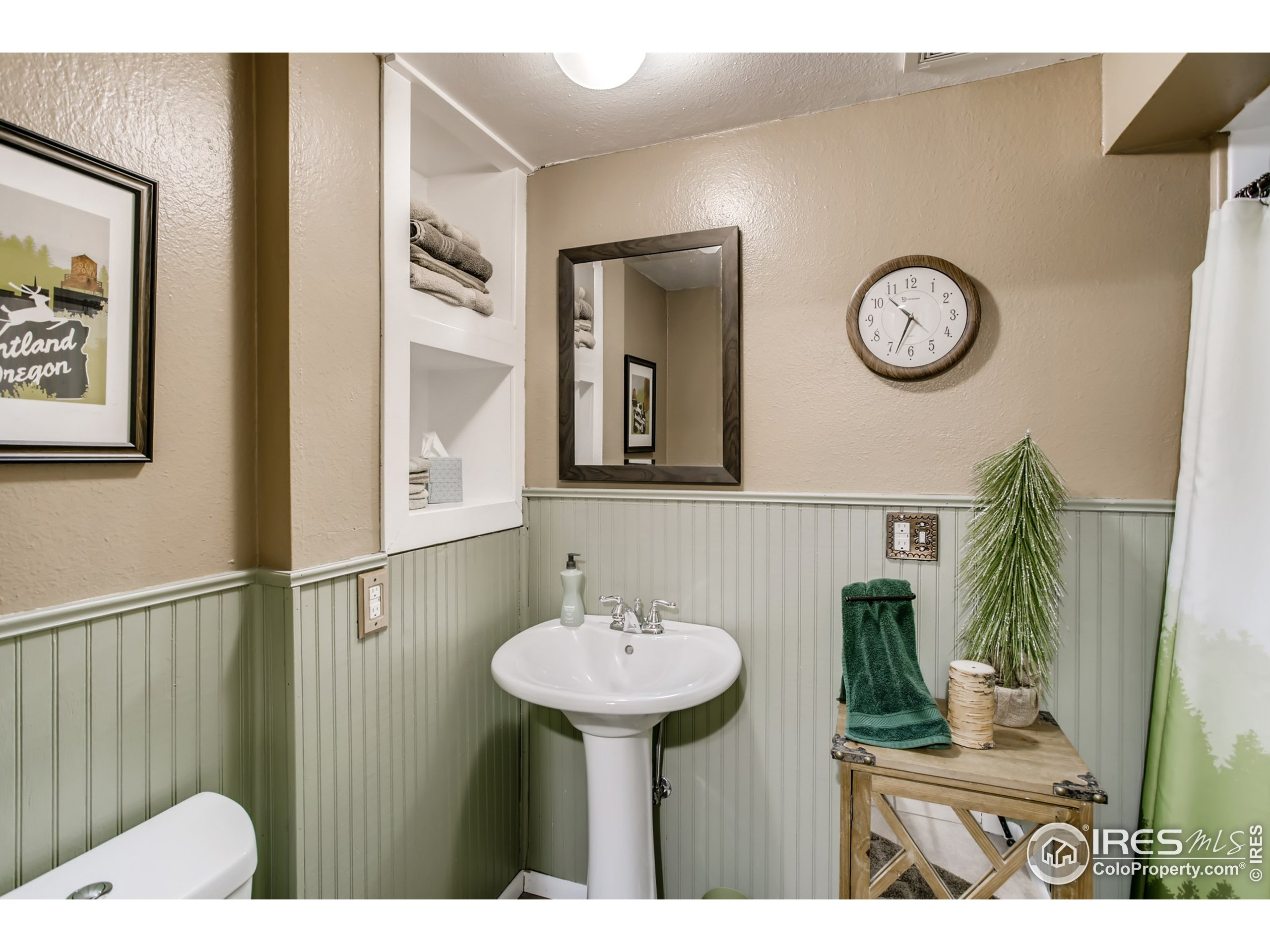 3/4 Bathroom in Lower Level is perfect for guests