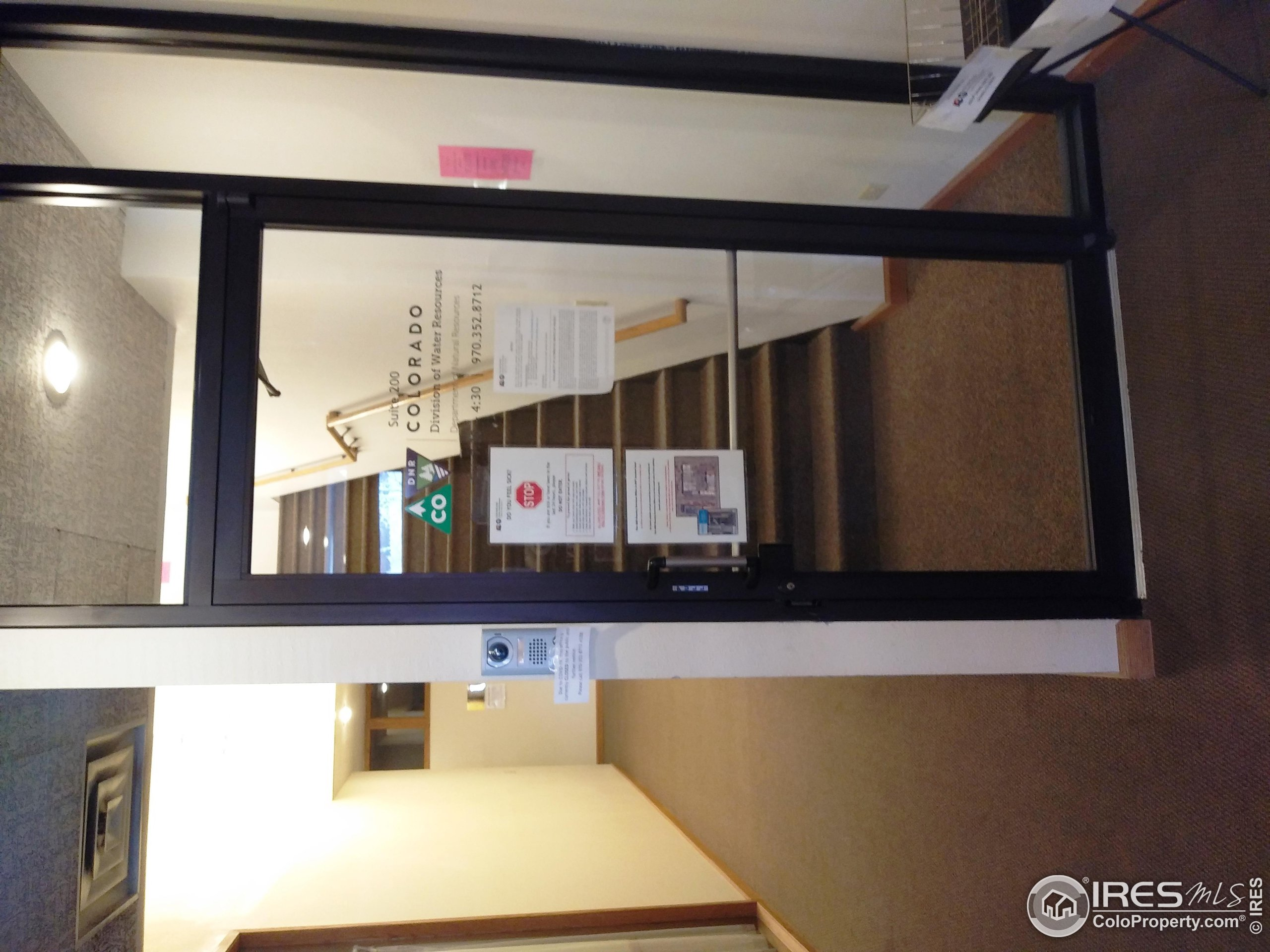 Secured access to 2nd floor