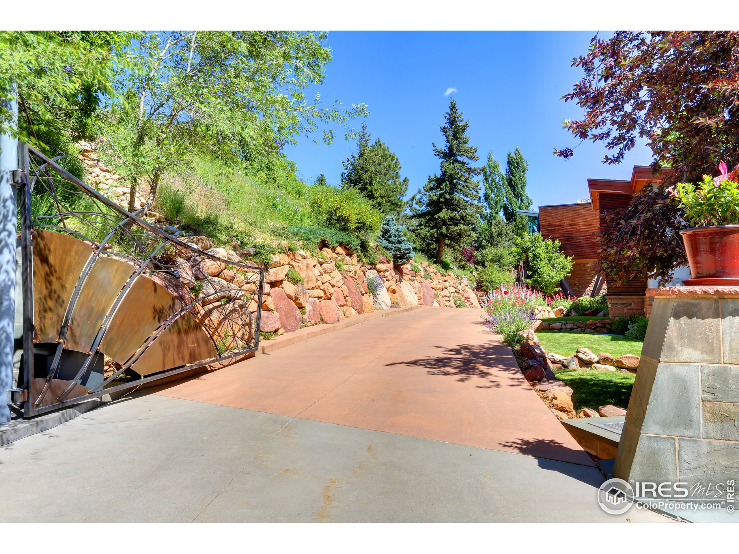 Secluded, Gated, with Heated Driveway