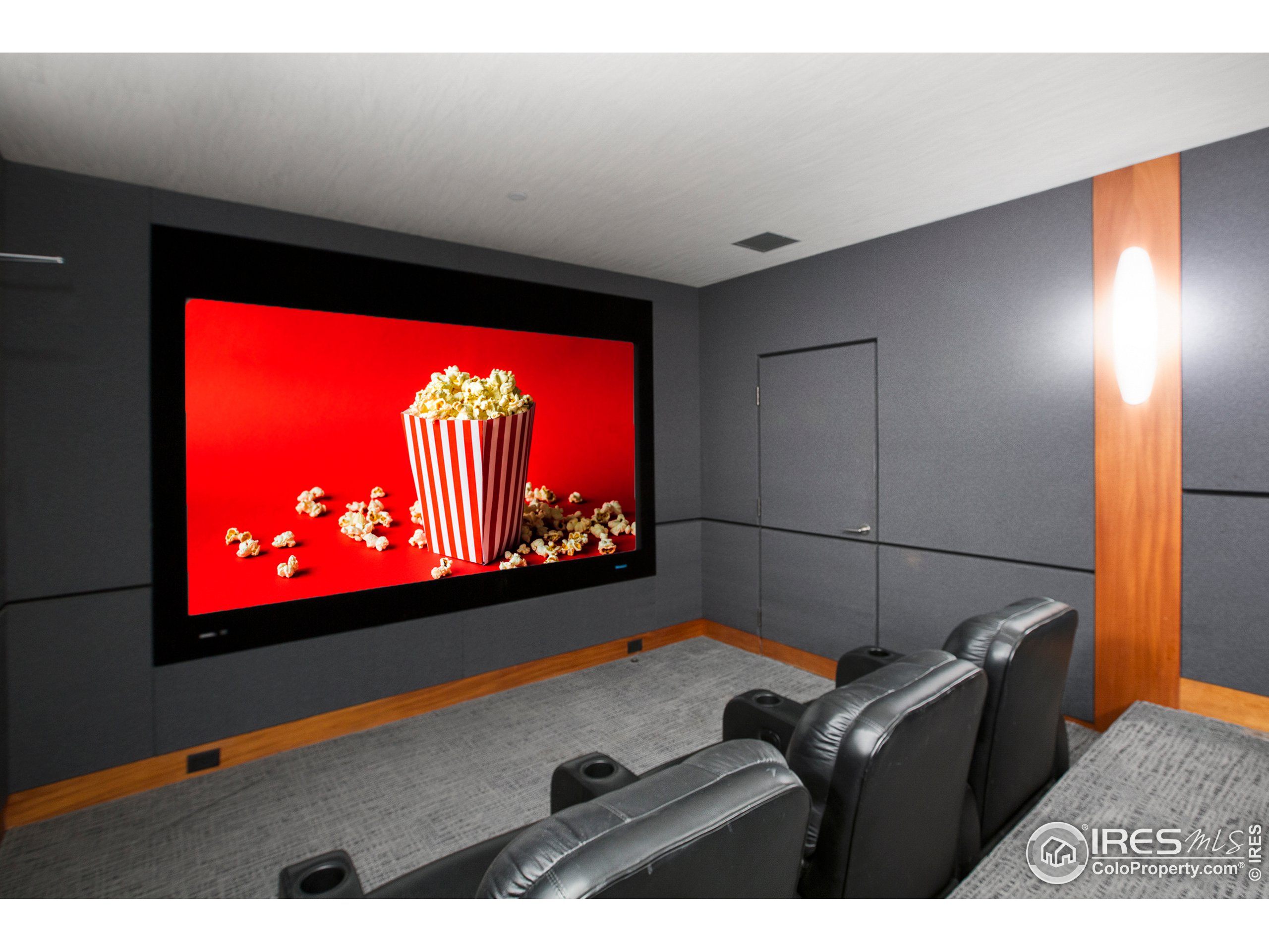 Acoustically Engineered Custom Home Theater