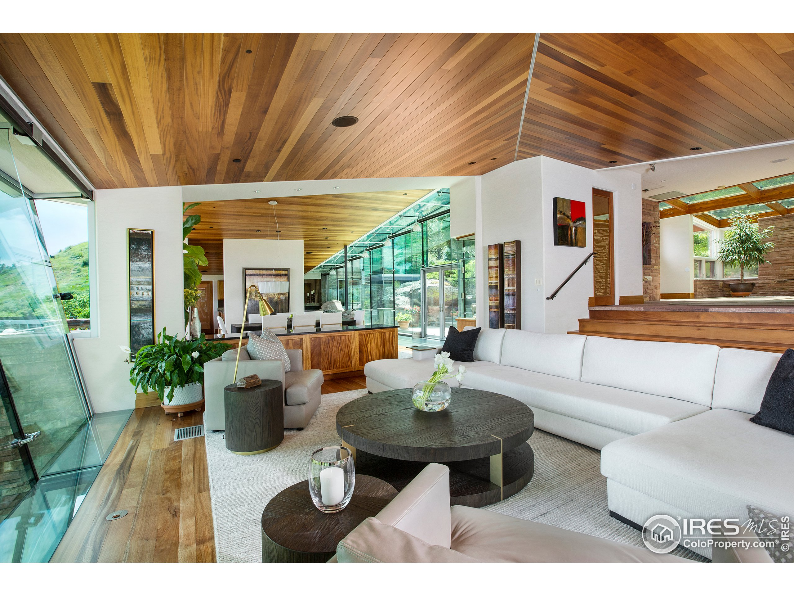 Contemporary and Sophisticated Living Areas