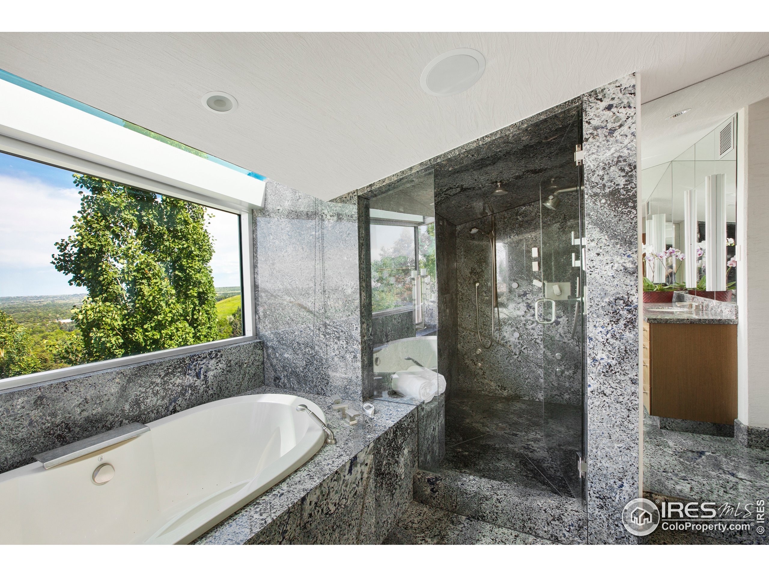 Jetted Tub and Steam Shower