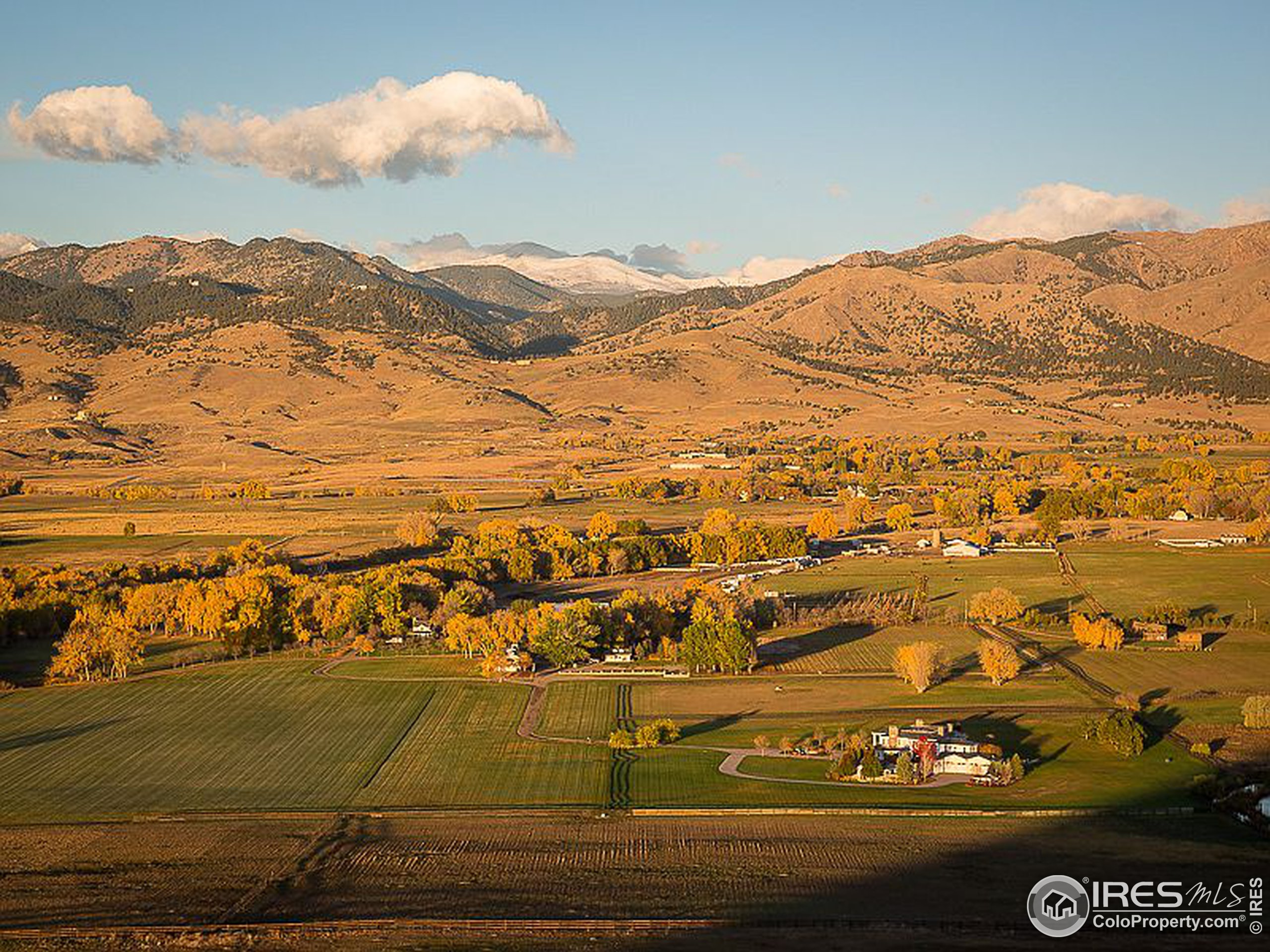 Complete privacy on 118 acres just 10 miles from downtown Boulder.
