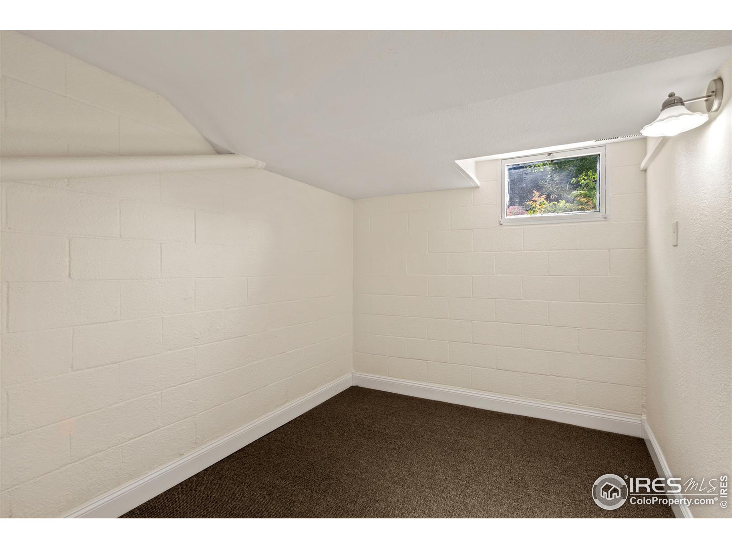 Many flex rooms in the basement - this one is perfect for an office/study or home gym