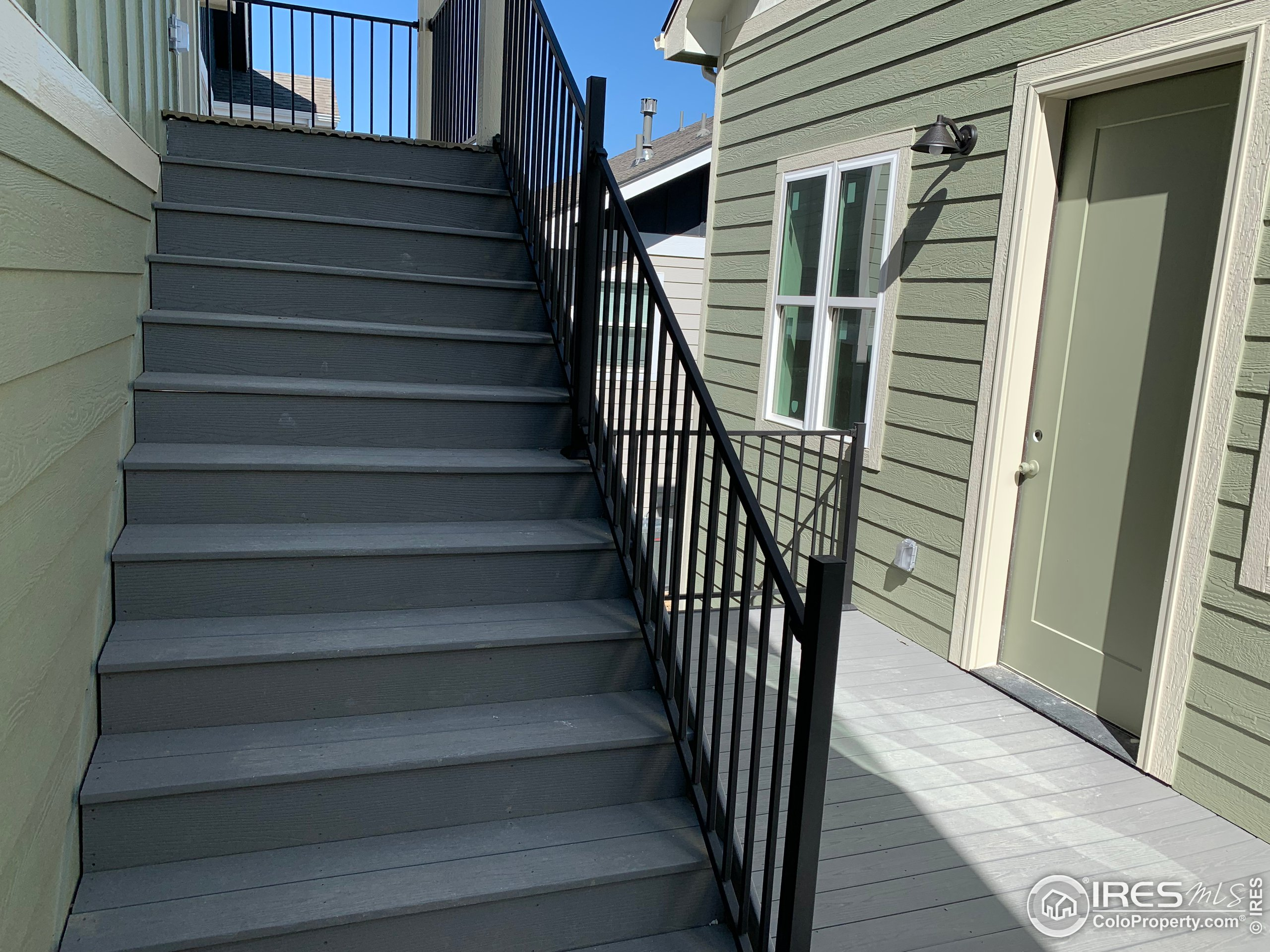 Stairs to Carriage House